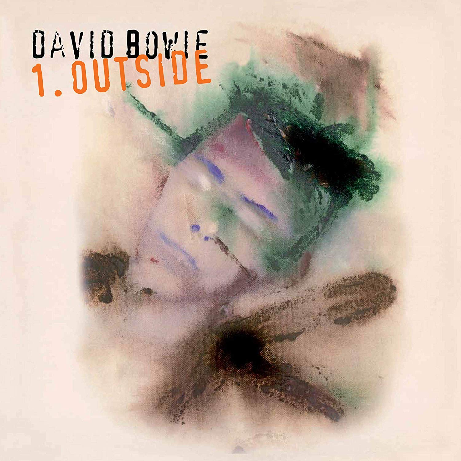 David Bowie - 1. Outside [Limited Edition Audiophile Translucent Blue & Green Swirl Tri-Fold Cover LP]