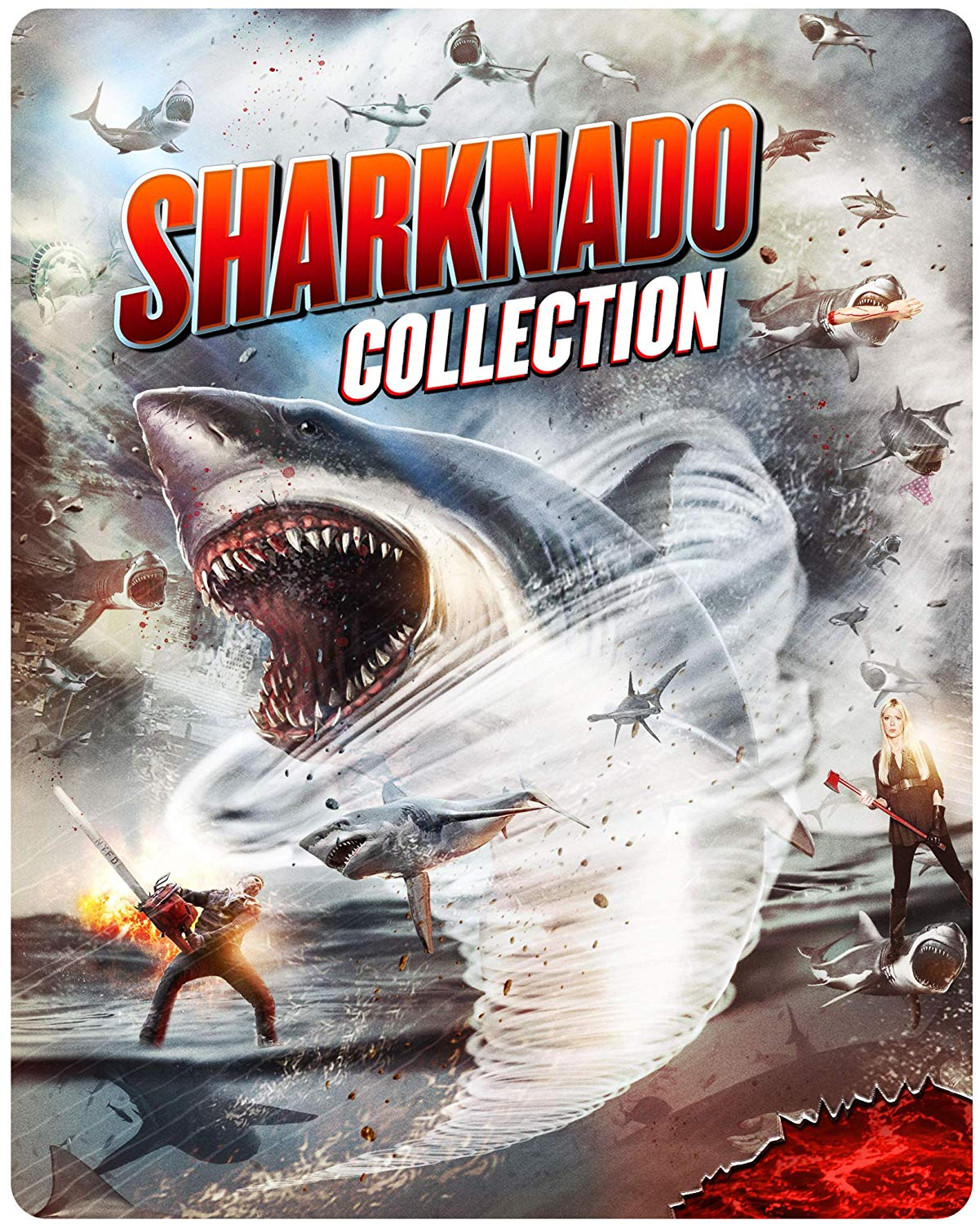 Sharknado [Movie] - Sharknado 1-6 Complete Collection [Limited Edition Steelbook]