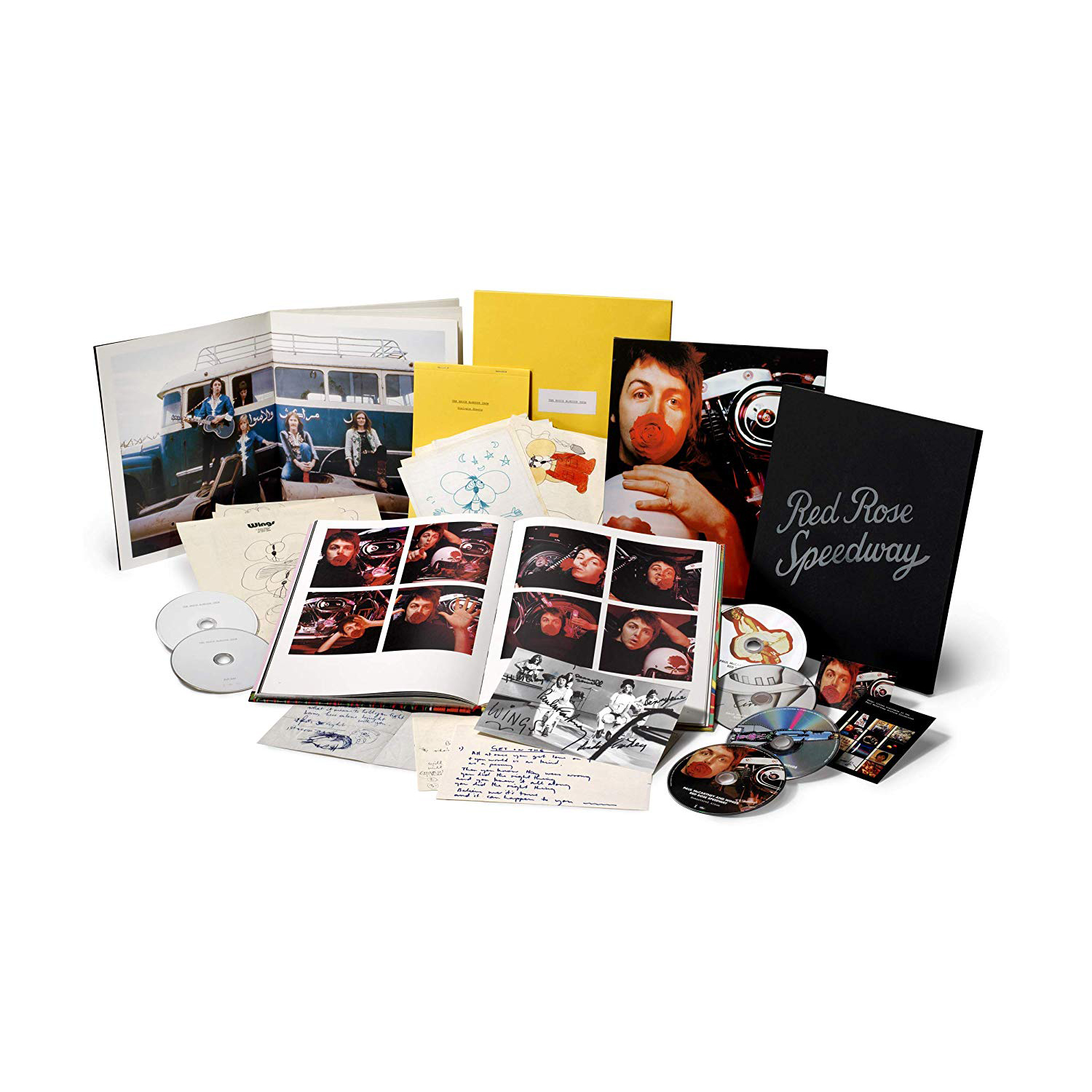 Red Rose Speedway: Remastered [Super Deluxe Edition]
