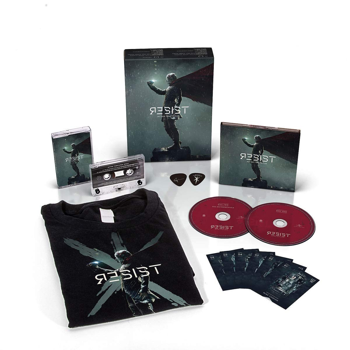 Within Temptation - Resist [Limited Edition Box Set 2 CD/Cassette/Large T-Shirt]