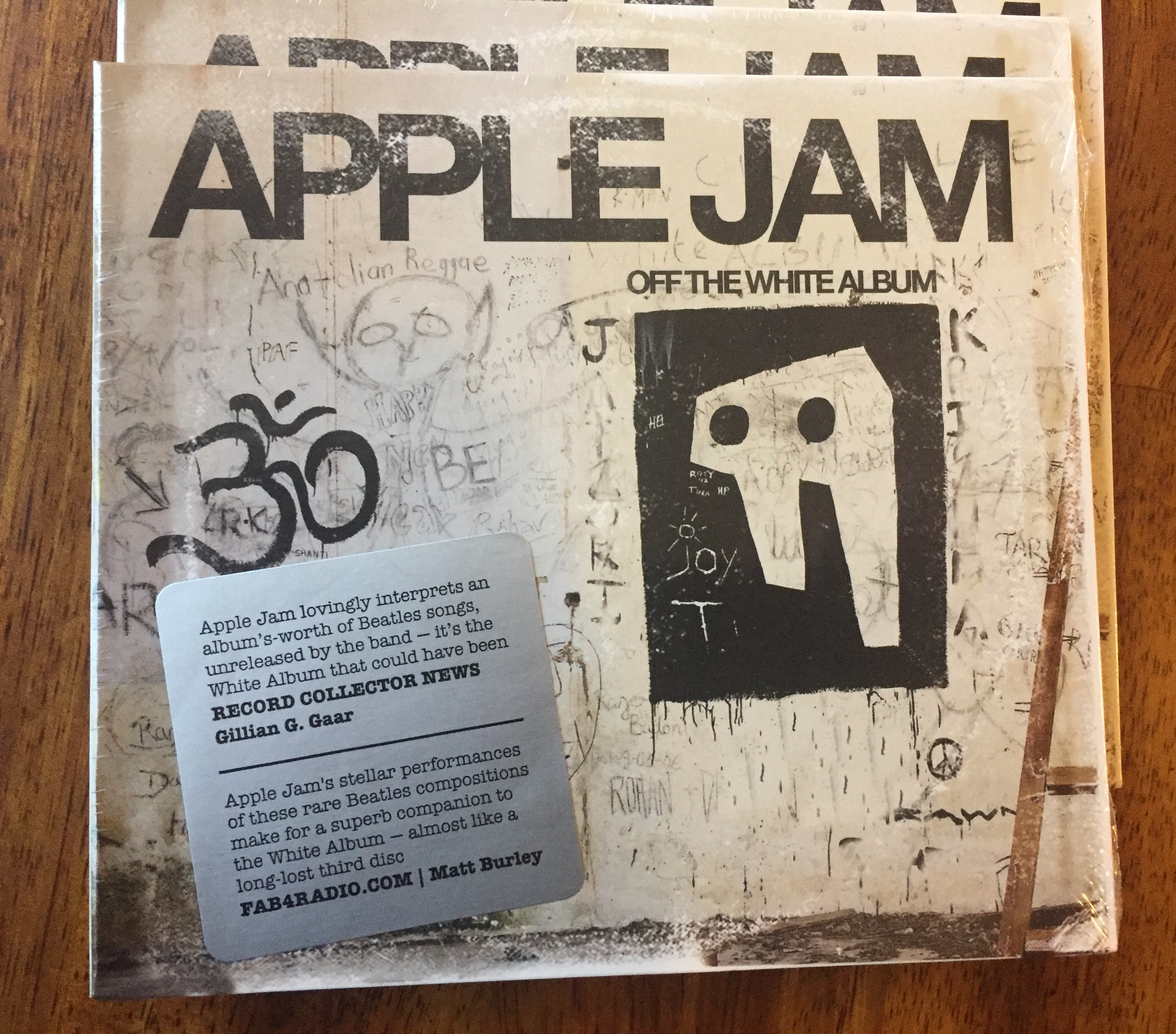 apple jams latest cd off the white album will be available to purchase at the show weve got a copy to giveaway along with a pair of tickets