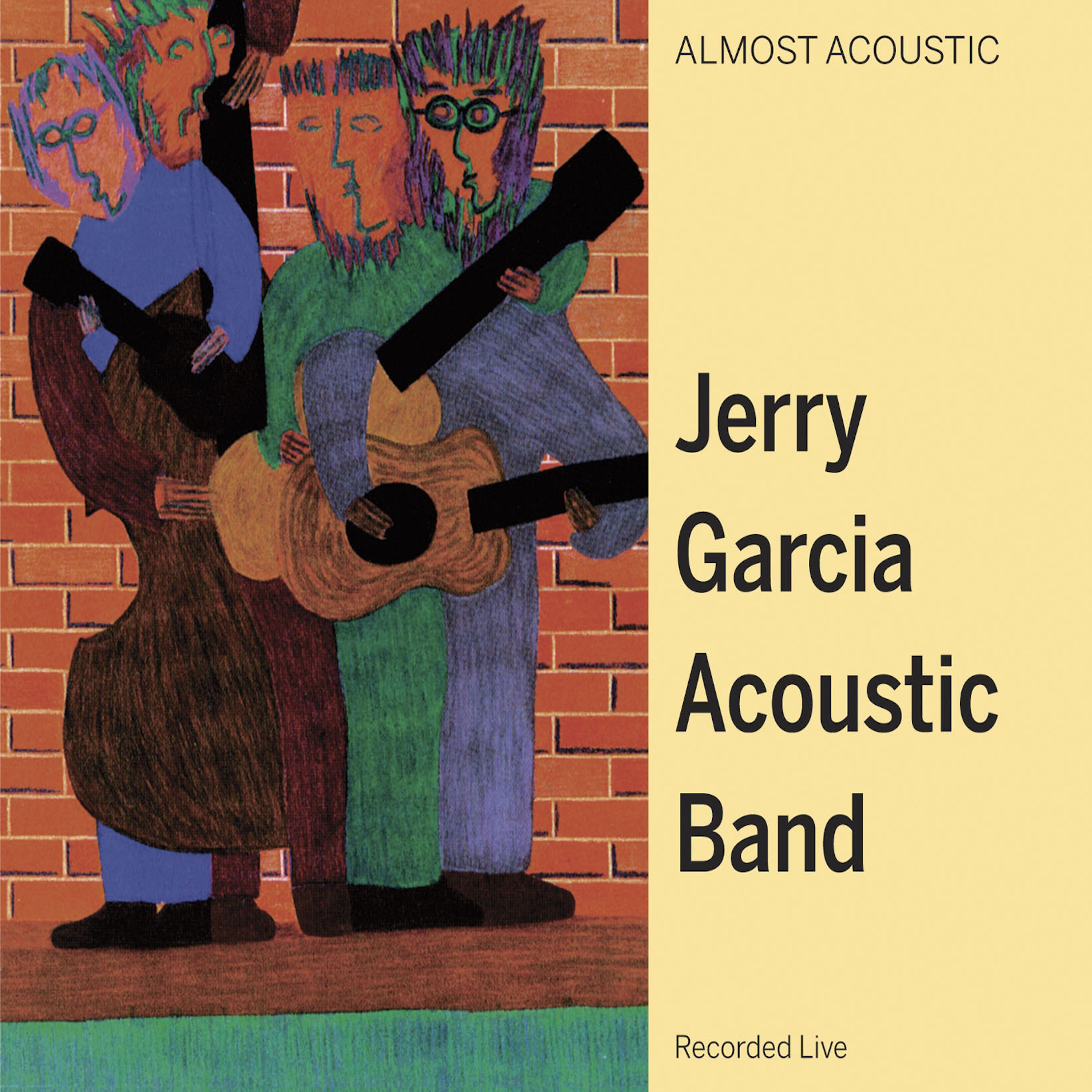 Jerry Garcia Acoustic Band - Almost Acoustic BF2018