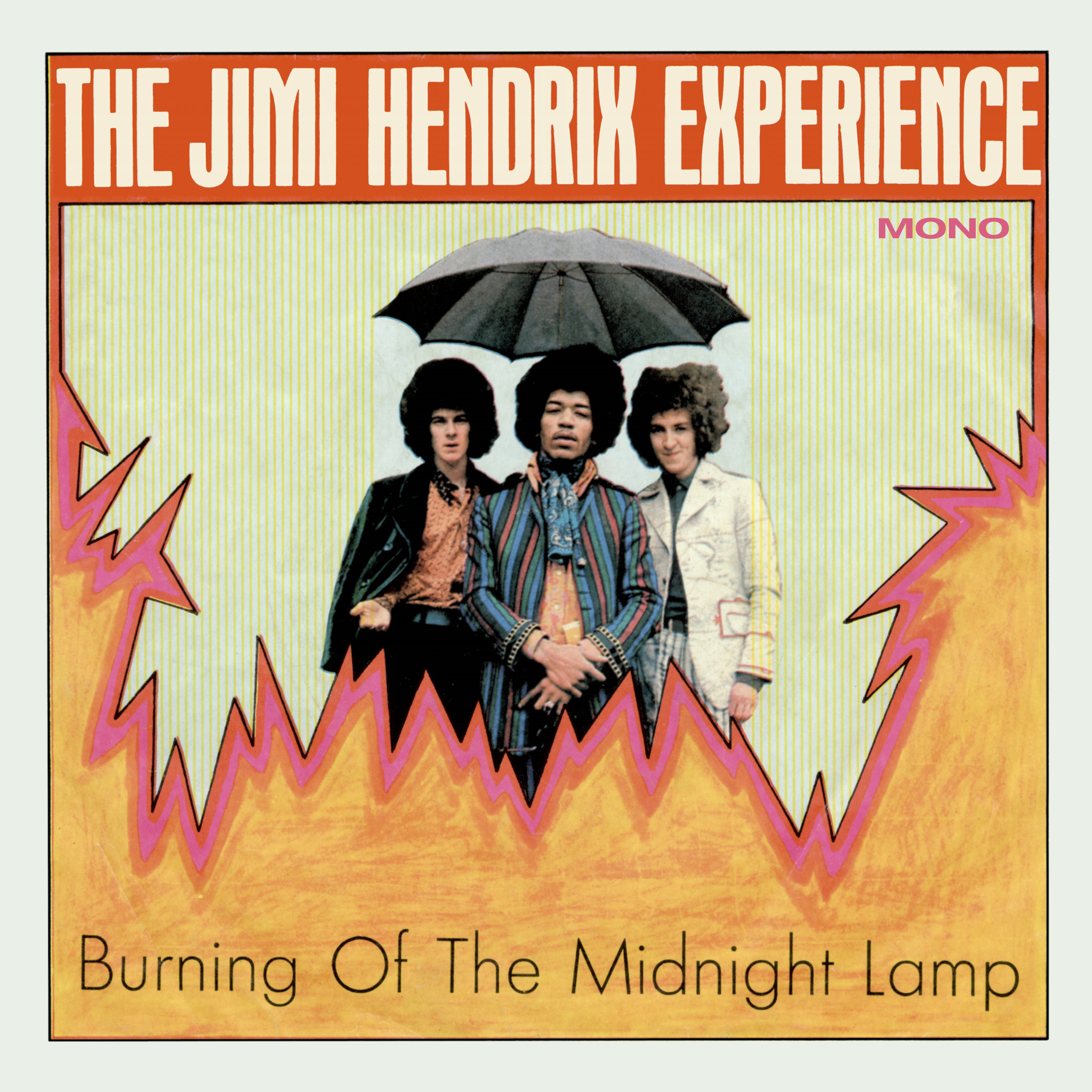 The Jimi Hendrix Experience - Burning of the Midnight Lamp Mono EP
