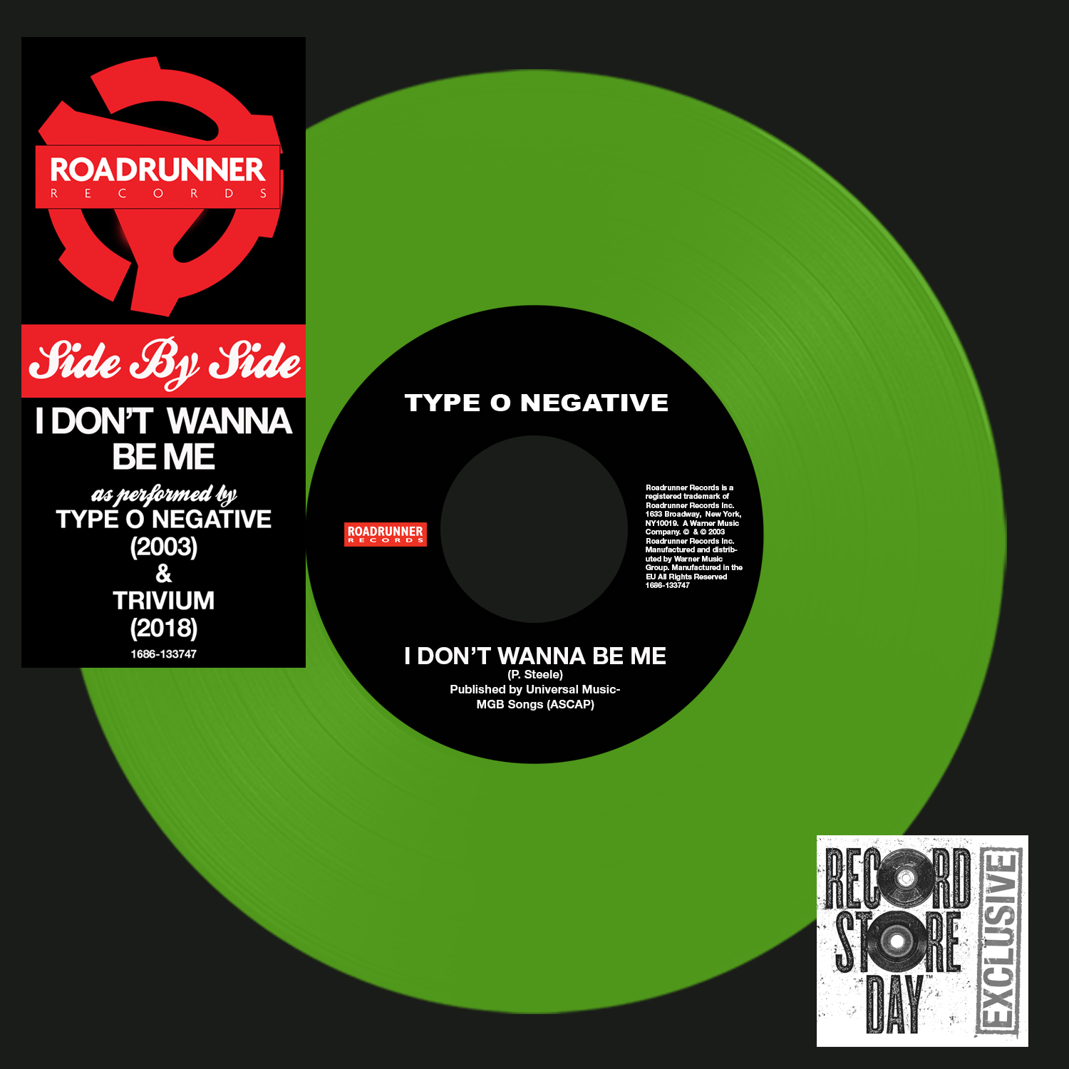 Type O Negative / Trivium - Side By Side: I Don't Wanna Be Me