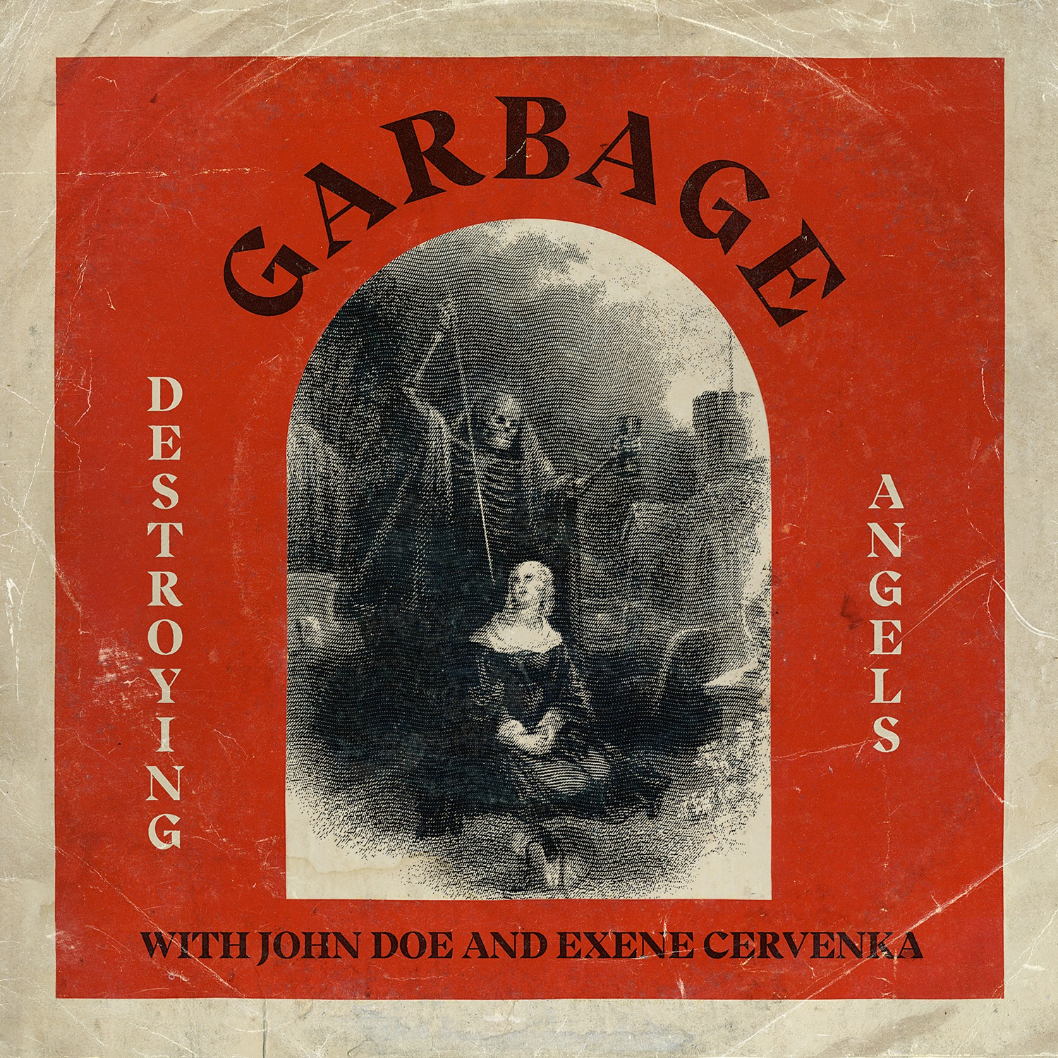 Garbage with John Doe and Exene Cervenka - Destroying Angels