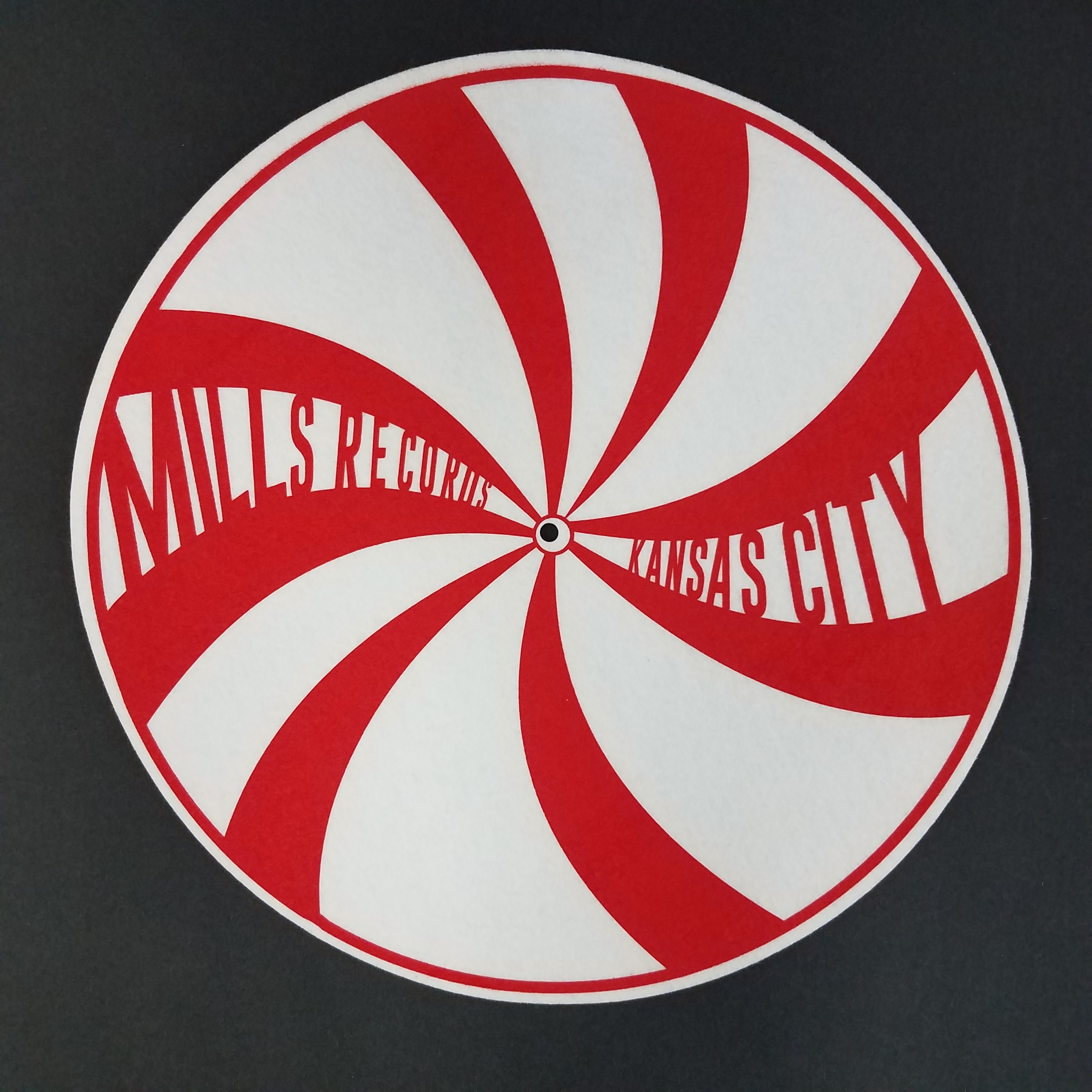 - Slipmat [Red Swirl]