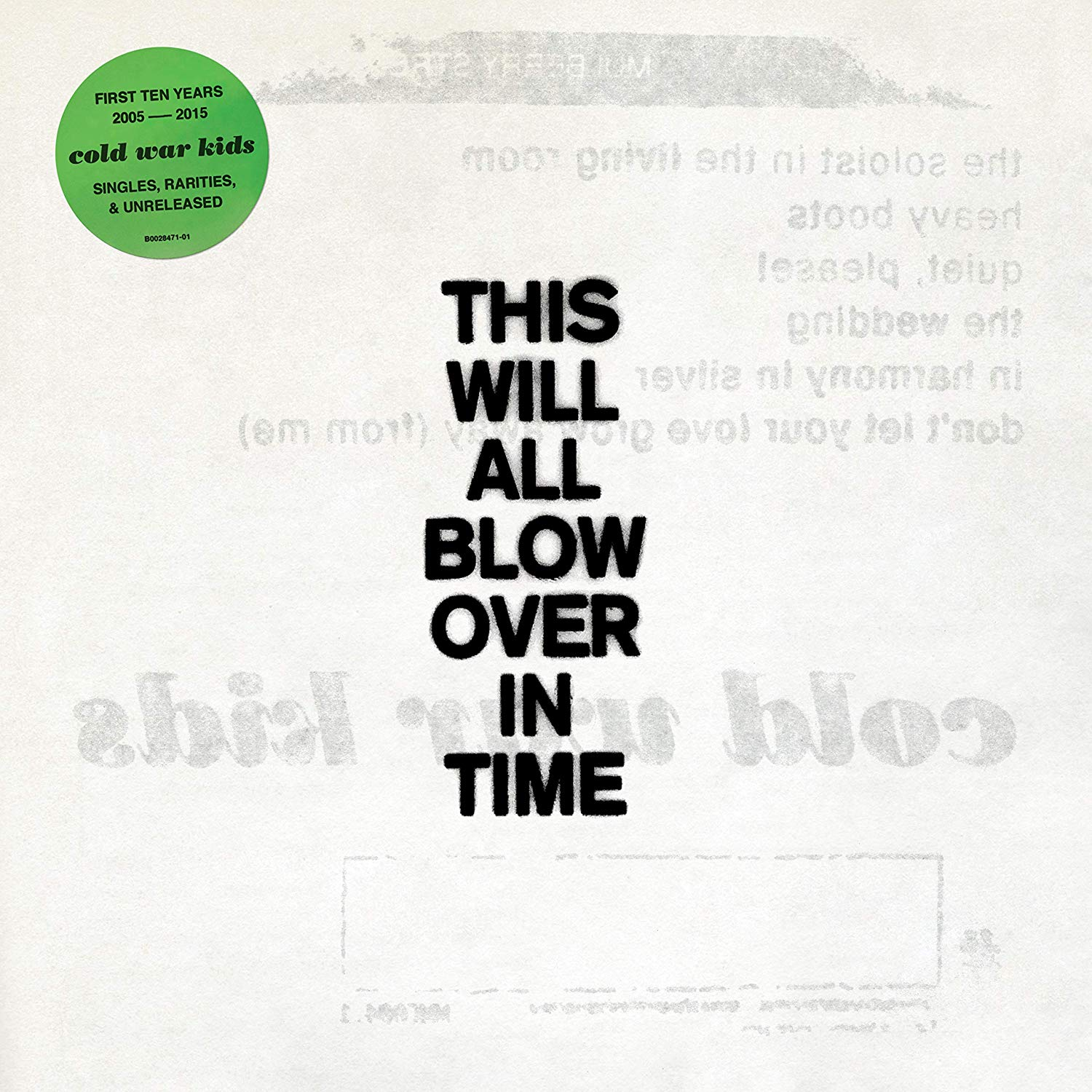 Cold War Kids - This Will All Blow Over In Time [2CD]