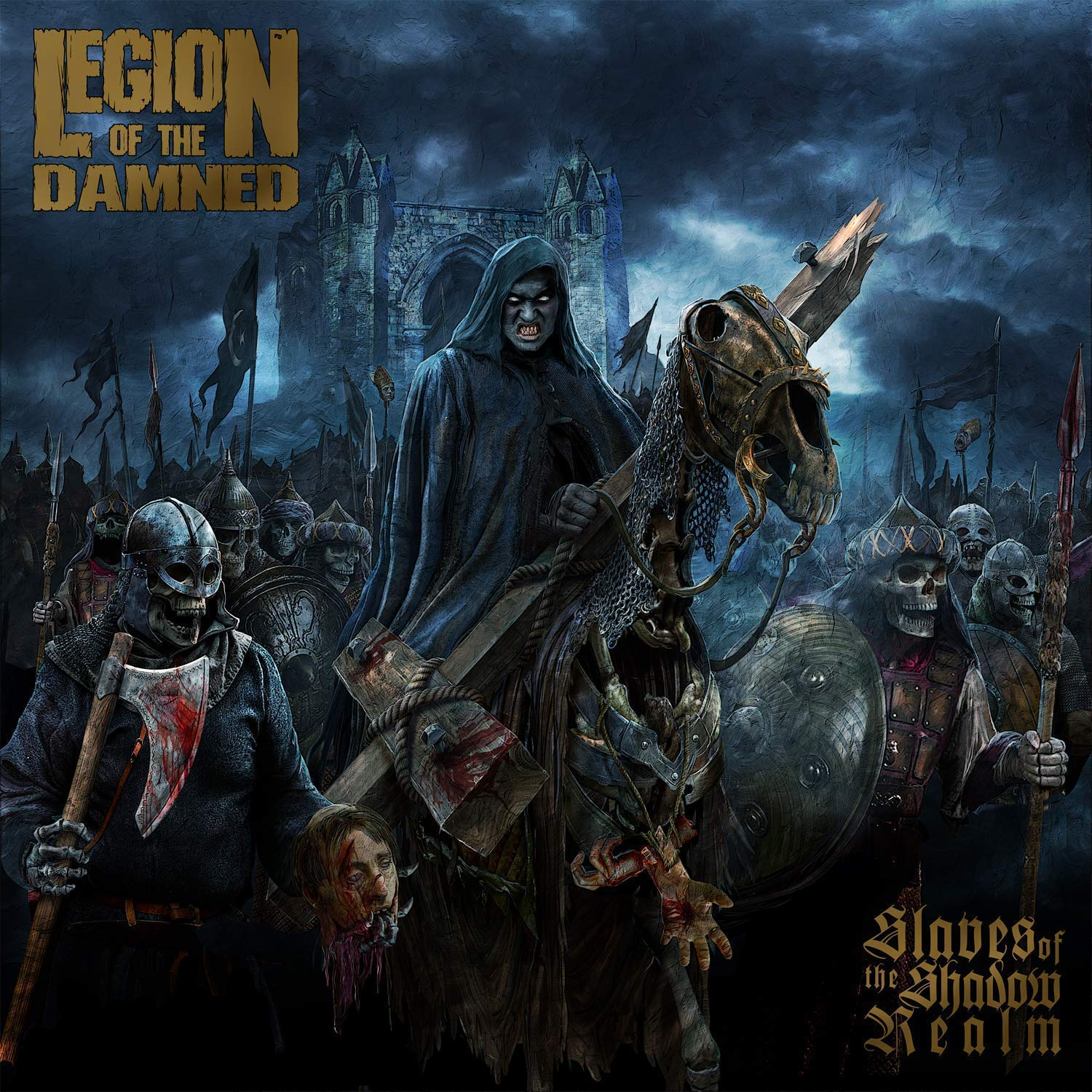 Legion Of The Damned - Slaves Of The Shadow Realm [Limited Edition CD/DVD]