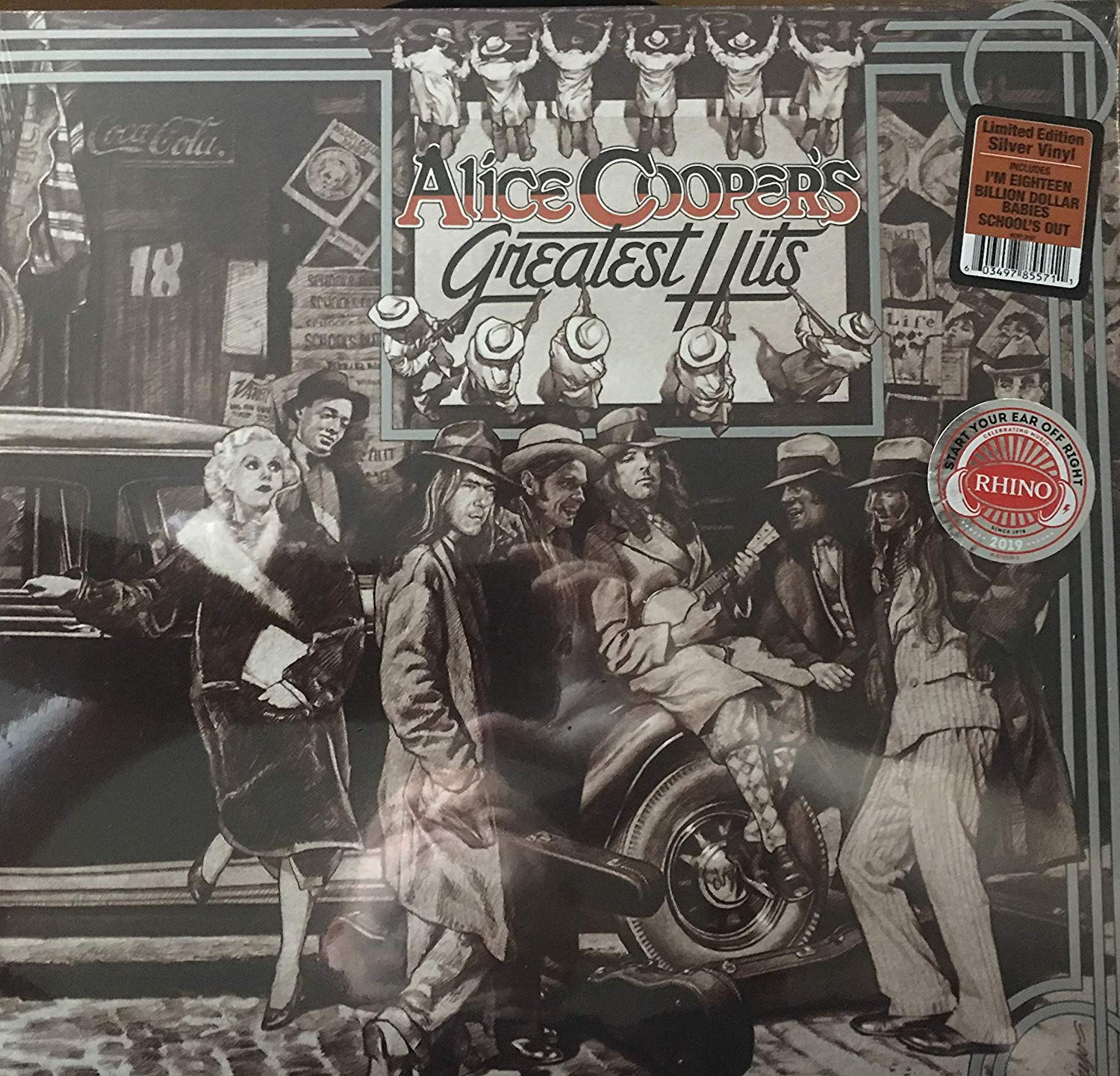Alice Cooper - Greatest Hits [SYEOR Exclusive 2019 Silver LP]
