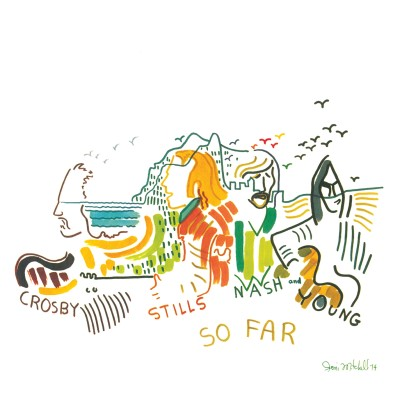 Crosby, Stills, Nash & Young - So Far [SYEOR Exclusive 2019 White LP]
