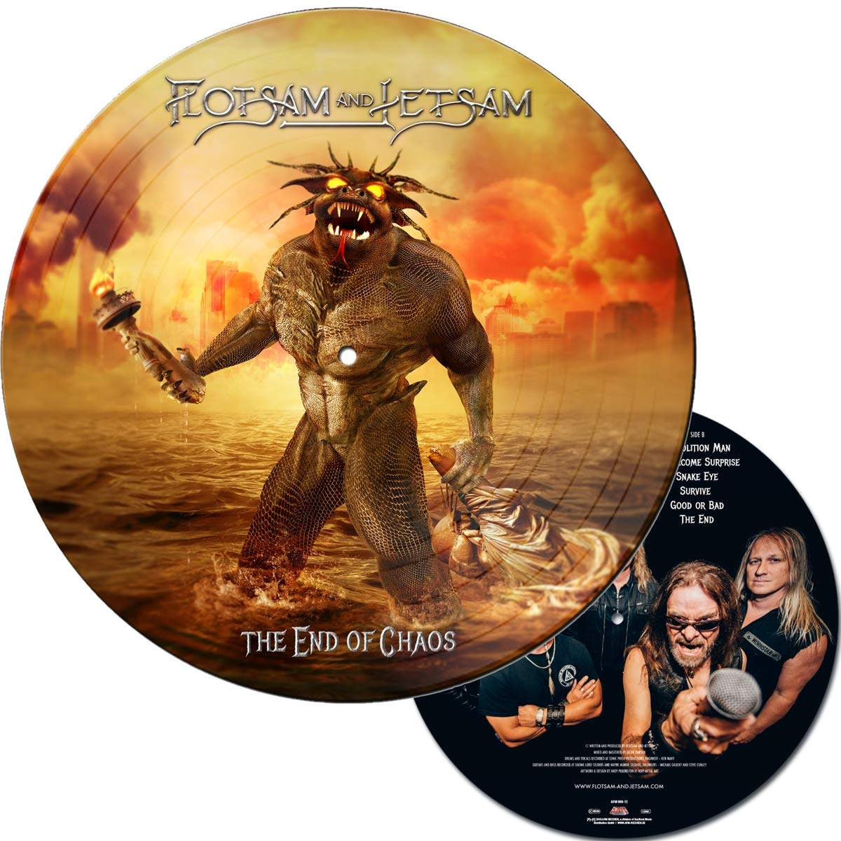 Flotsam & Jetsam - The End Of Chaos [Limited Edition Picture Disc LP]