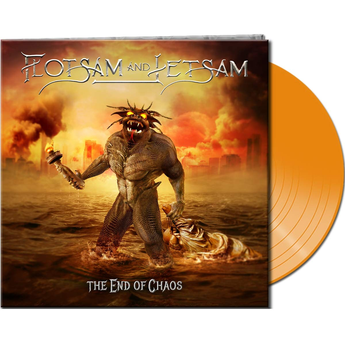 Flotsam & Jetsam - The End Of Chaos [Limited Edition Orange LP]
