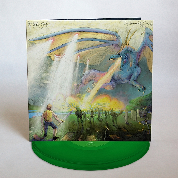 The Mountain Goats - In League with Dragons [Indie Exclusive Limited Edition Peak Vinyl+7in]