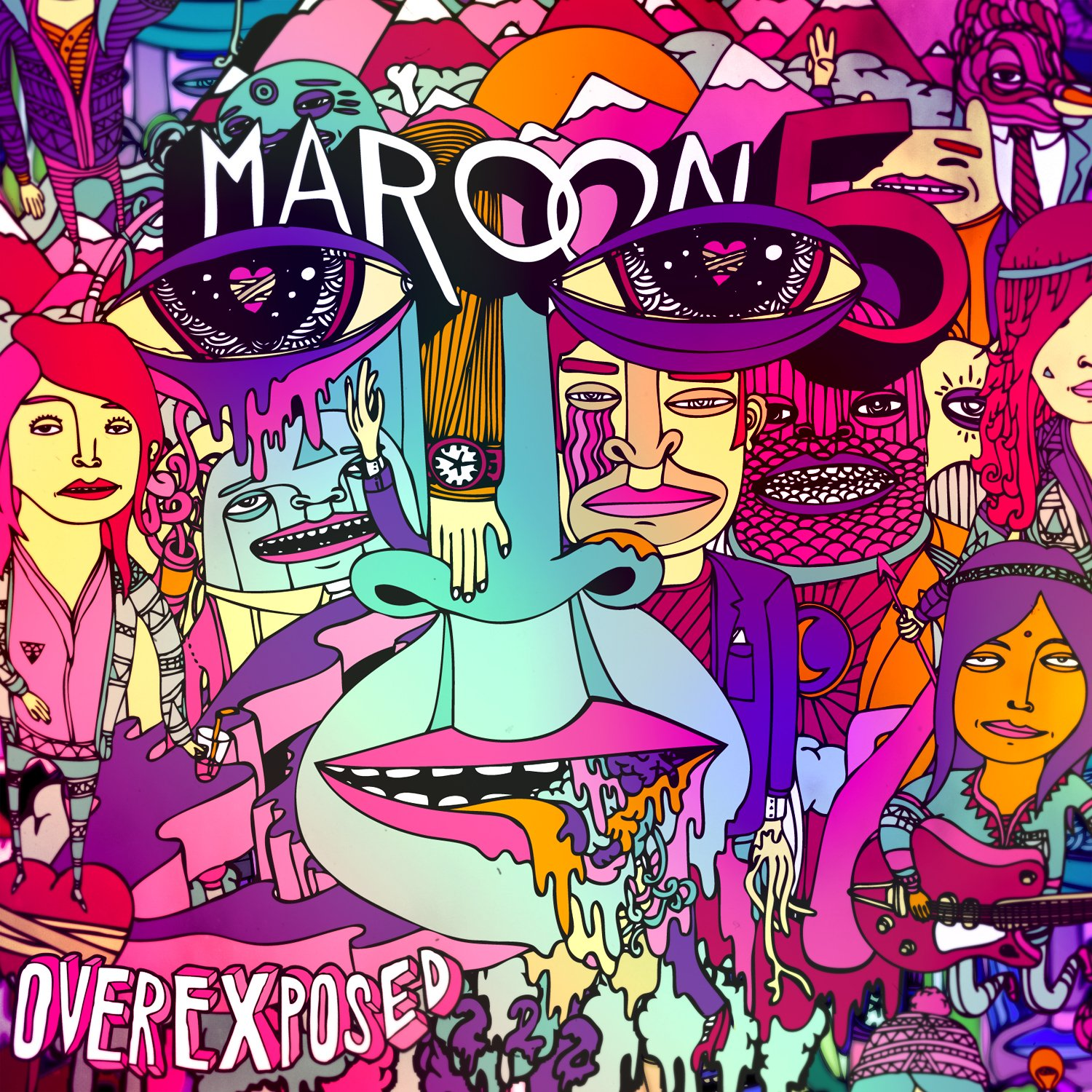 Maroon 5 - Overexposed [Deluxe Edition]