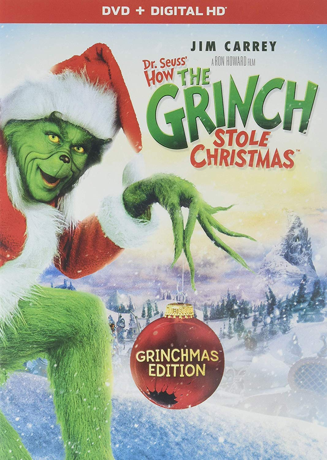 Dr. Seuss' The Grinch - Dr Seuss' How The Grinch Stole Christmas