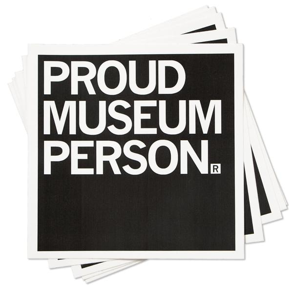 Strictly Discs - Proud Museum Person Sticker
