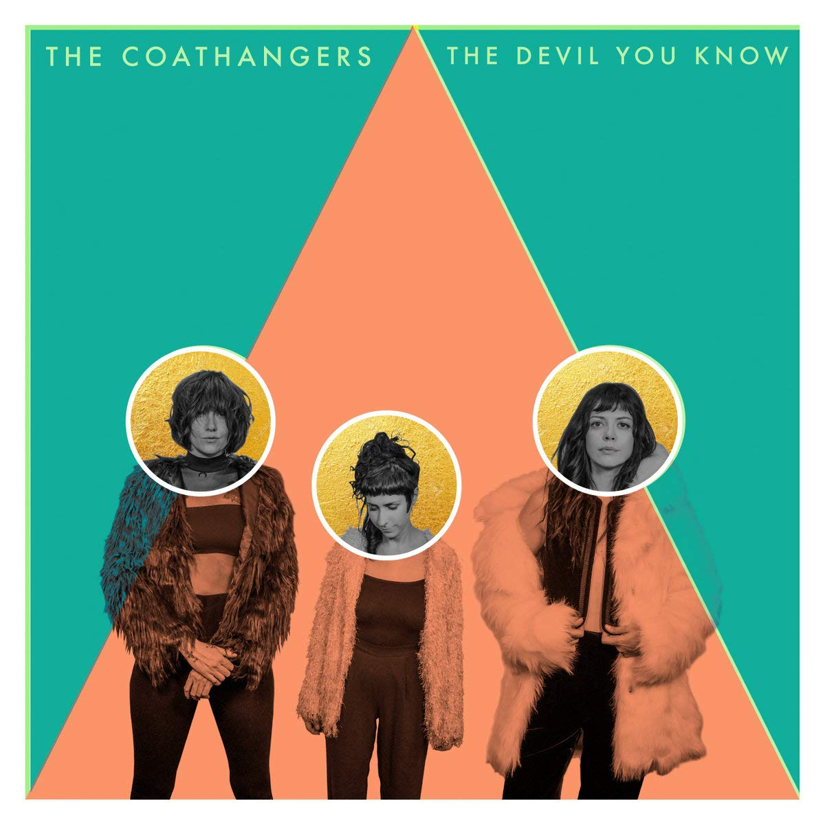 Coathangers - Devil You Know [Gold / Bone / Double Mint Colored Vinyl]