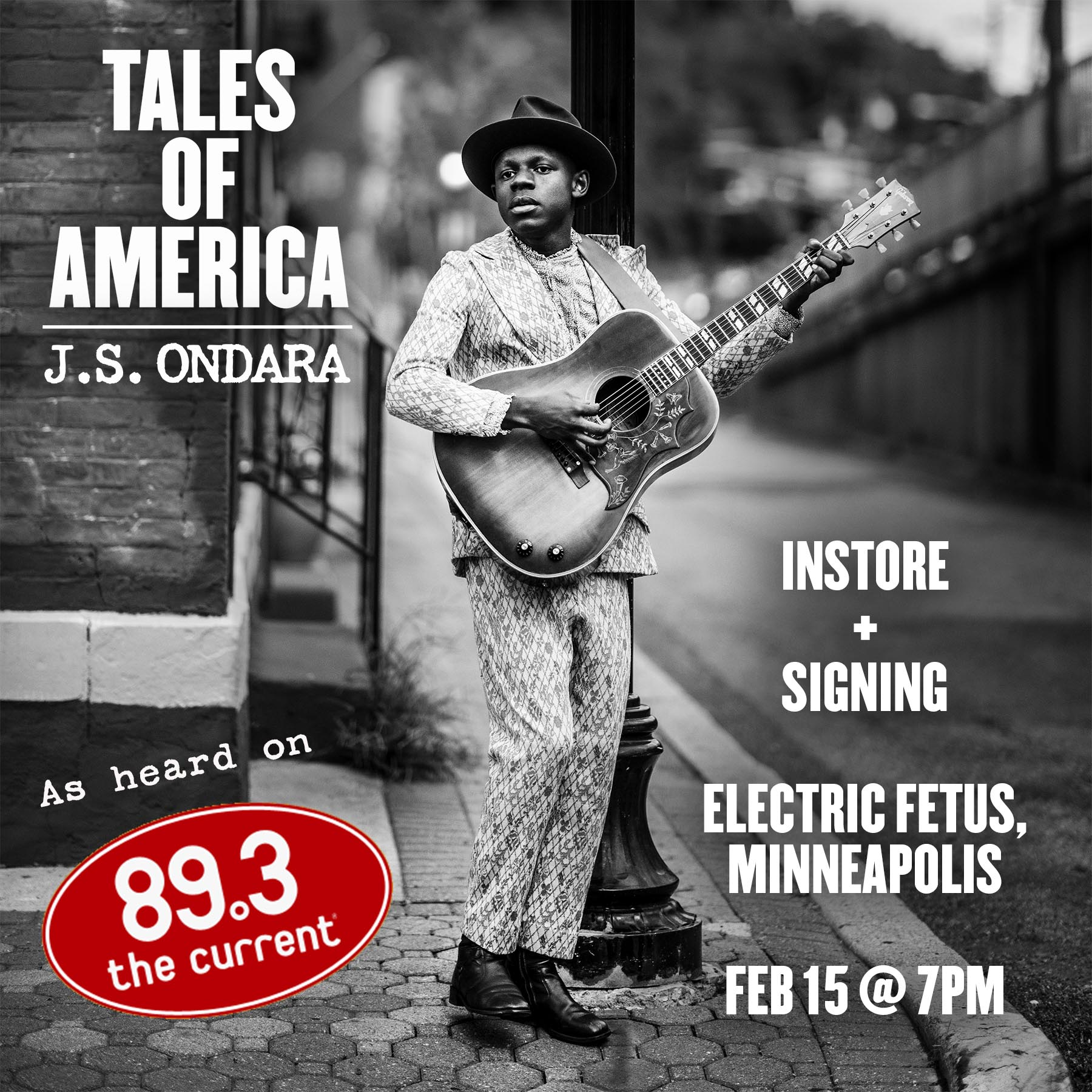 J. S. Ondara In-store Performance and Signing