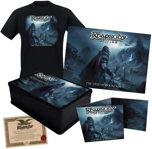 Rhapsody Of Fire - The Eighth Mountain [Limited Edition Box Set - XL T-Shirt]