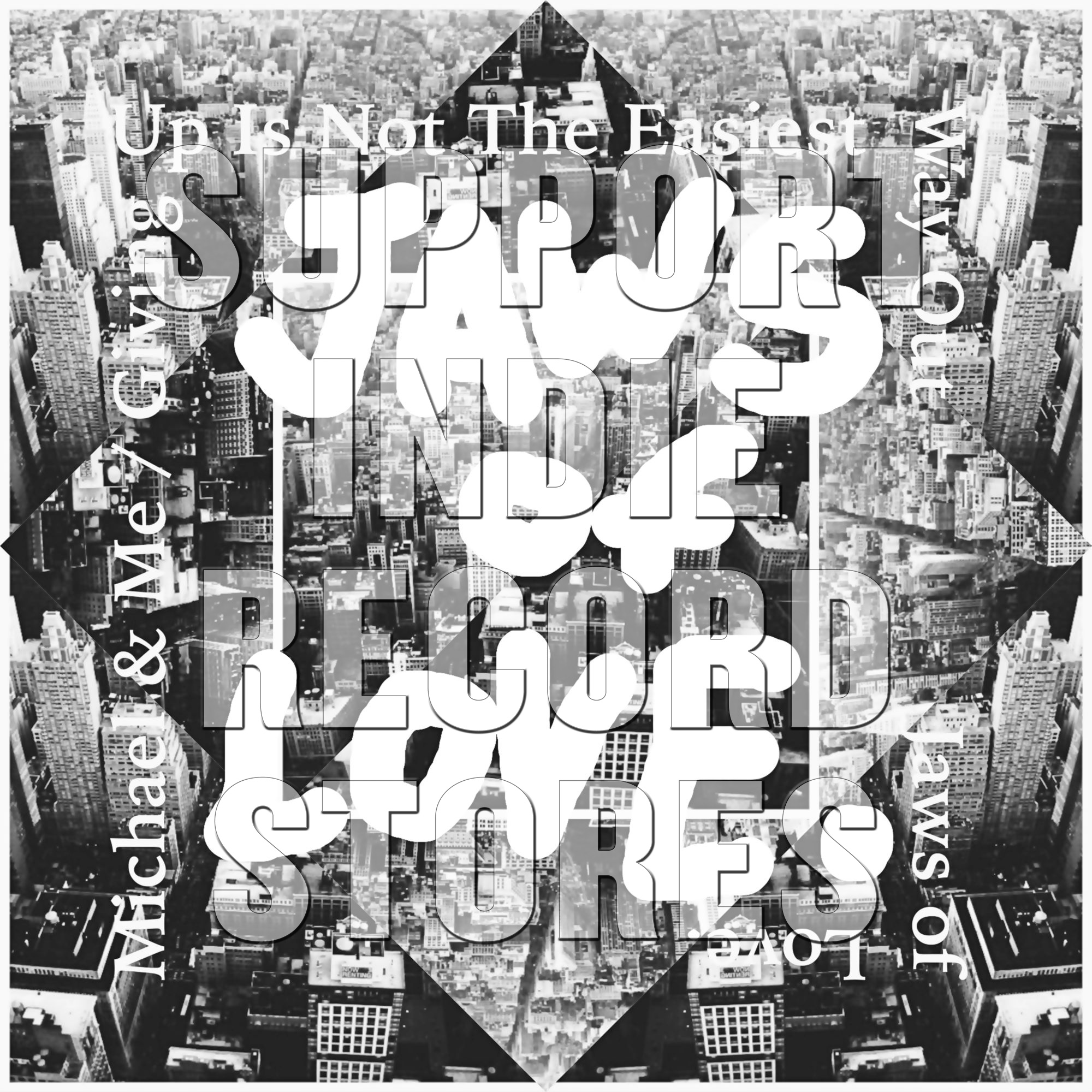 "Jaws Of Love - ""Michael & Me""/""Giving Up Is Not The Easiest Way Out"" [RSD 2019]"