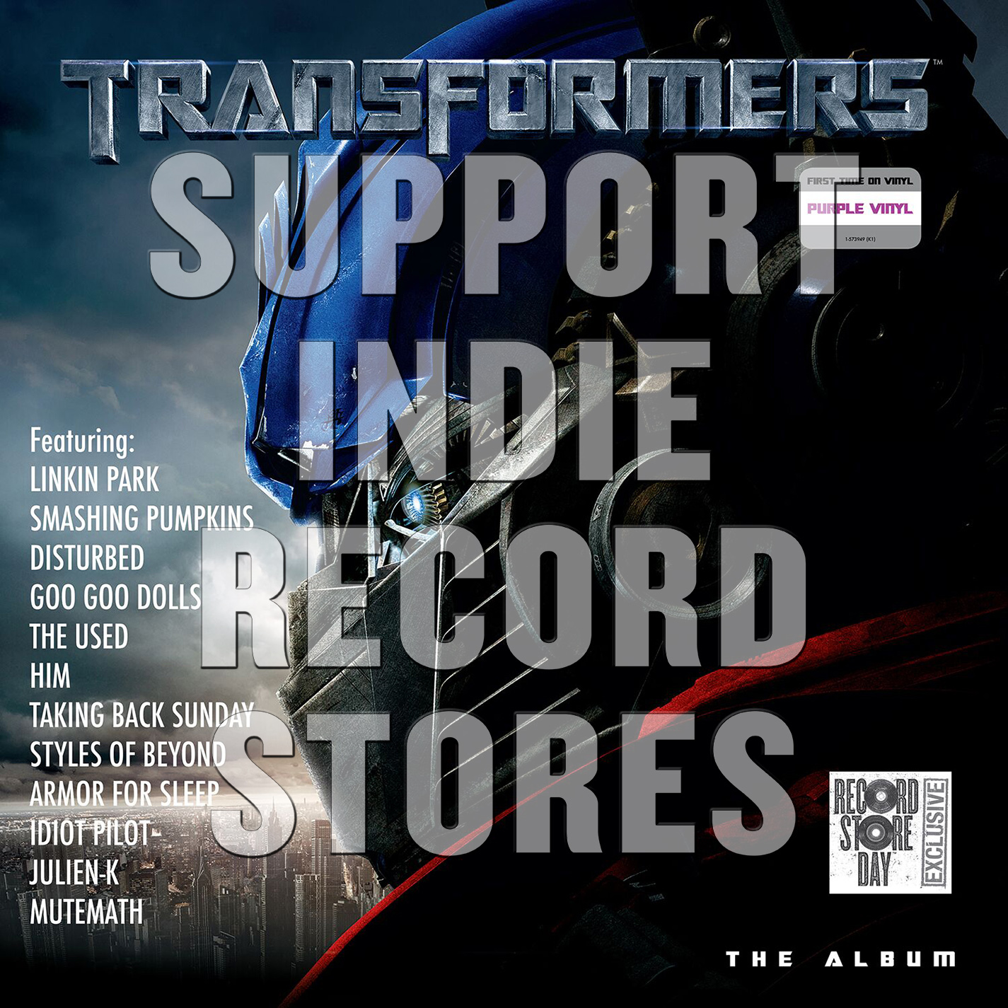 Various Artists - Transformers - The Album [RSD 2019]