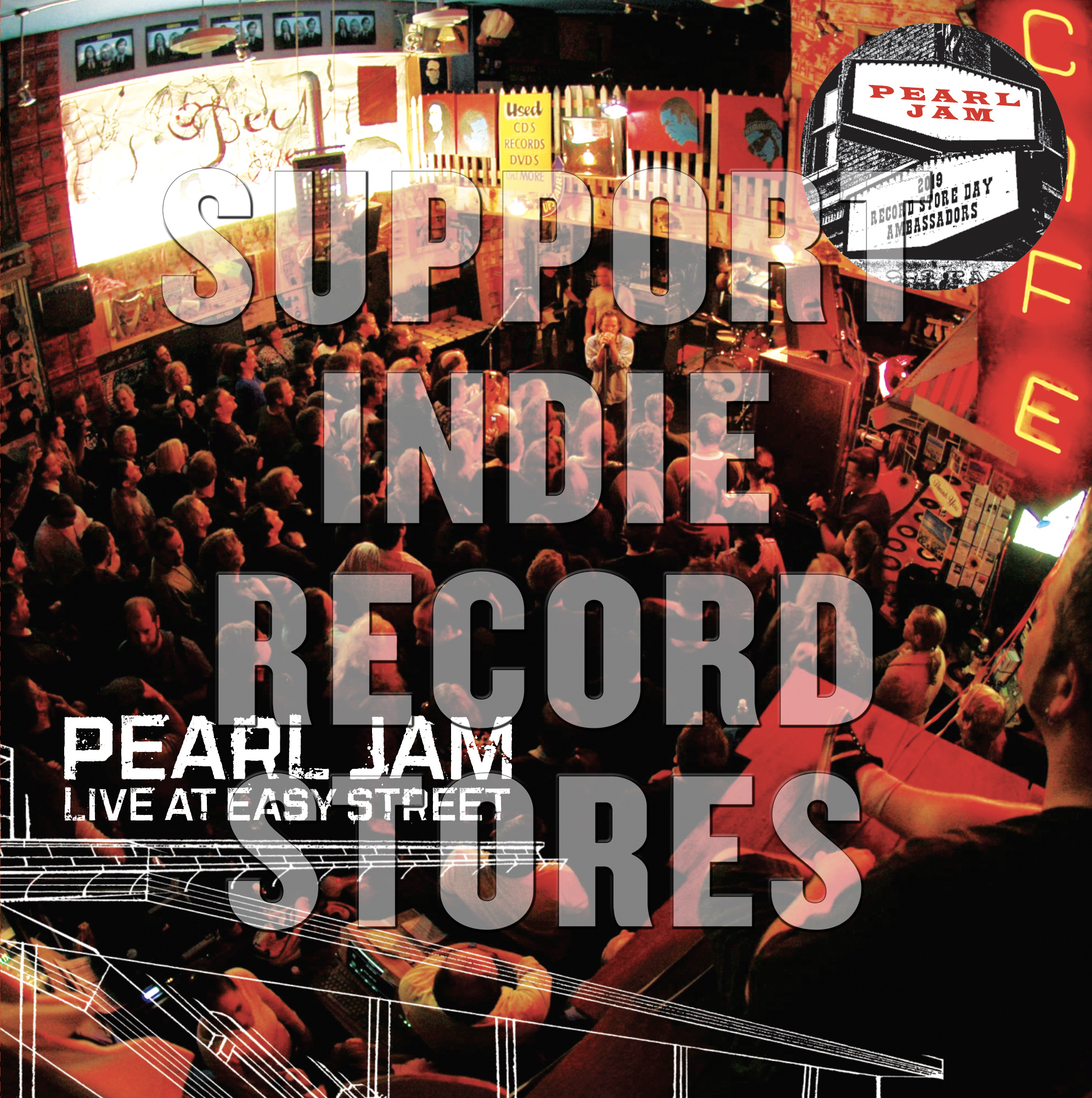 Pearl Jam - Live At Easy Street [RSD 2019]