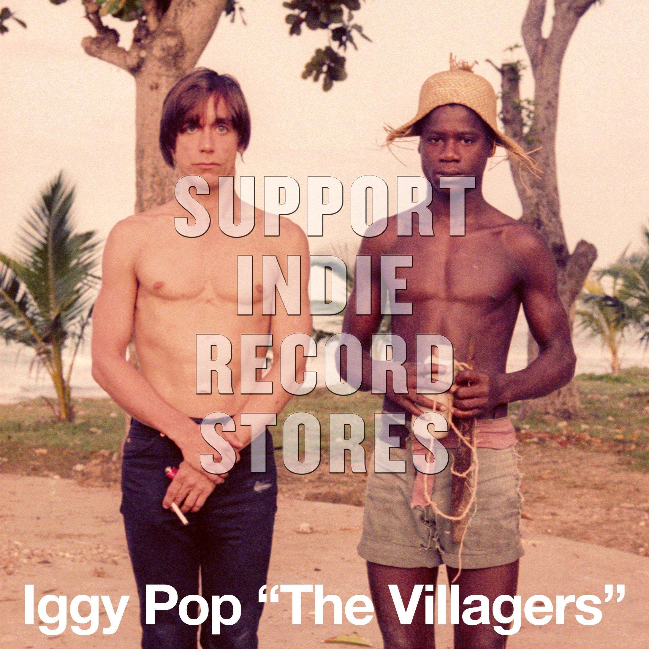 "Iggy Pop - ""The Villagers"" b/w ""Pain & Suffering"" [RSD 2019]"