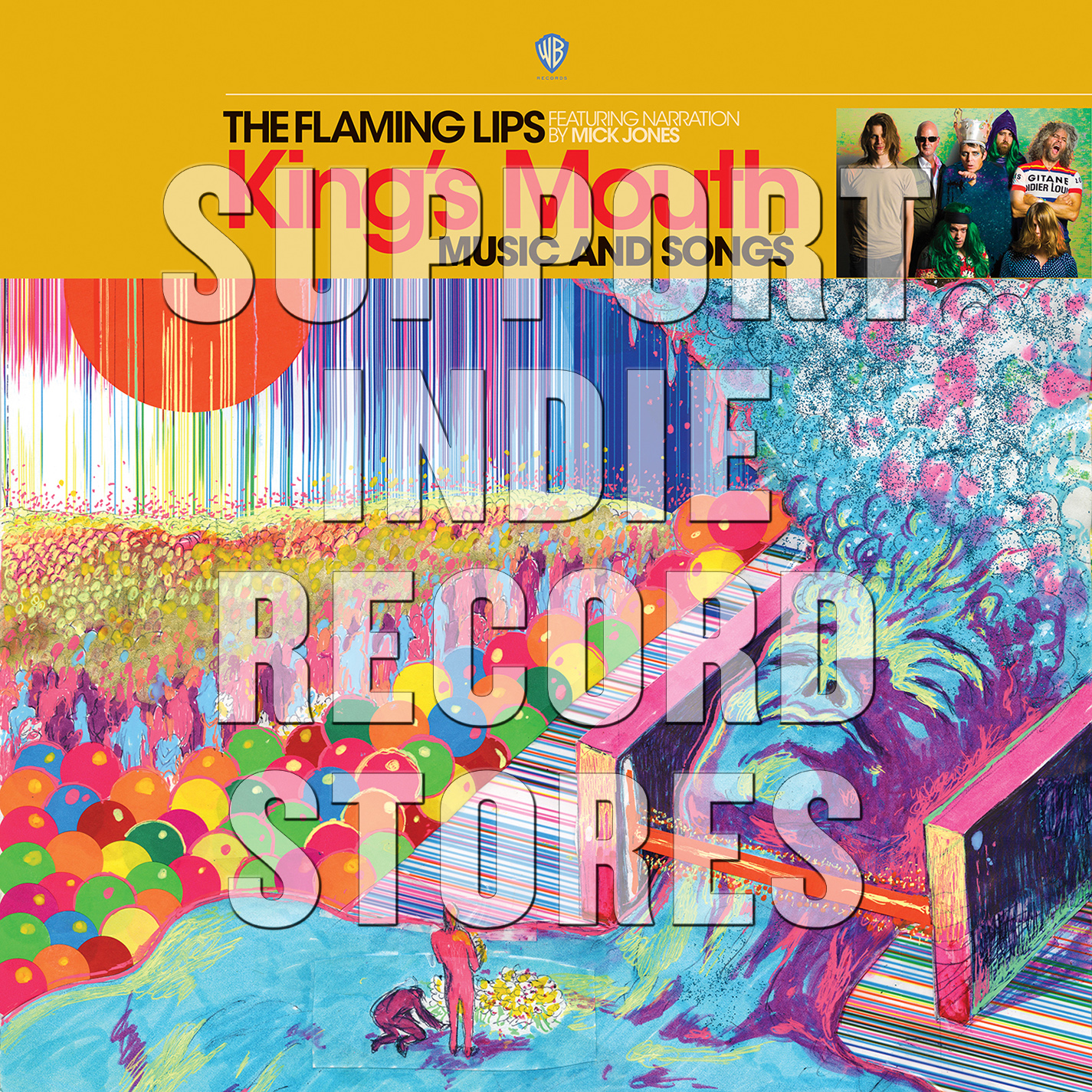 The Flaming Lips - King's Mouth: Music and Songs [RSD 2019]