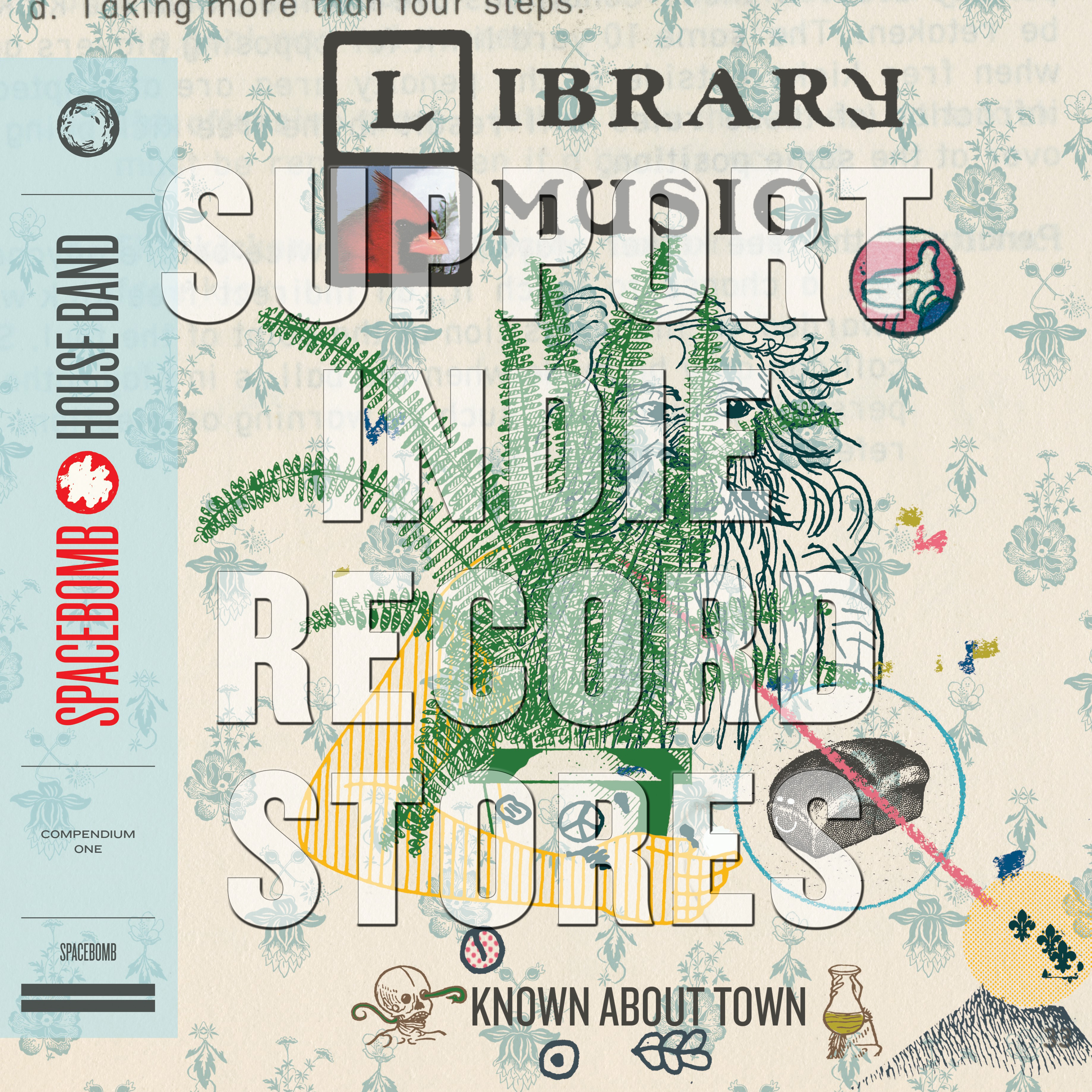 Spacebomb House Band - Known About Town: Library Music Compendium One [RSD 2019]