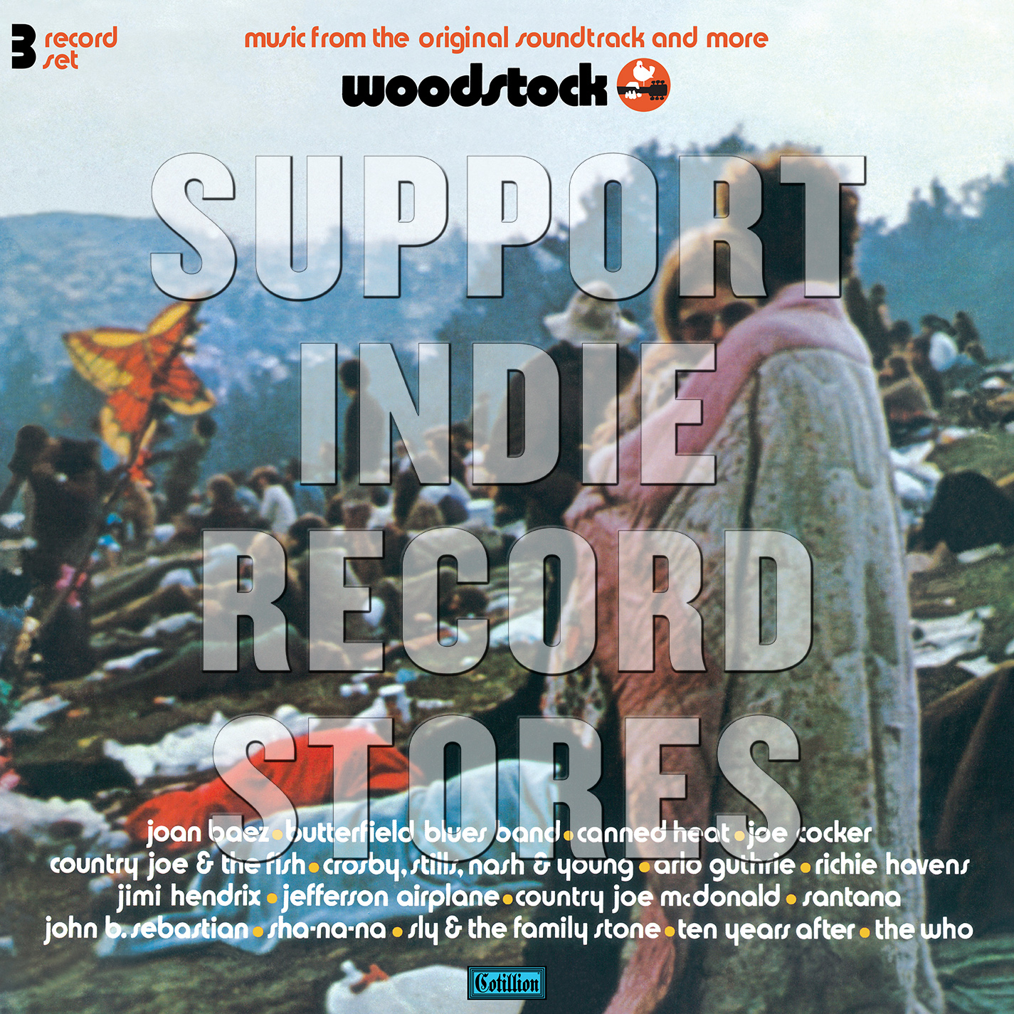Various Artists - Woodstock Mono PA Version [RSD 2019]