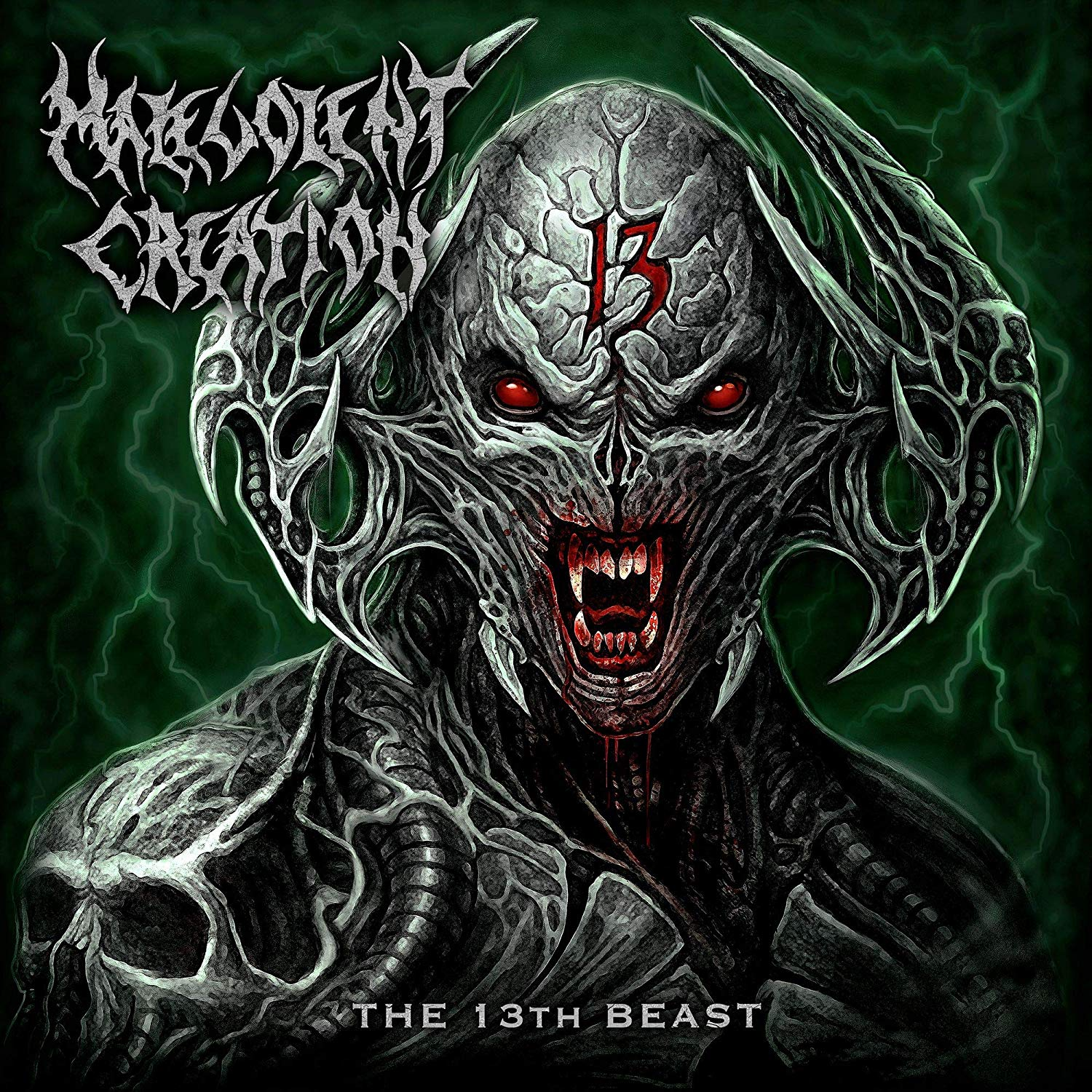 Malevolent Creation - The 13th Beast [Import Red LP]