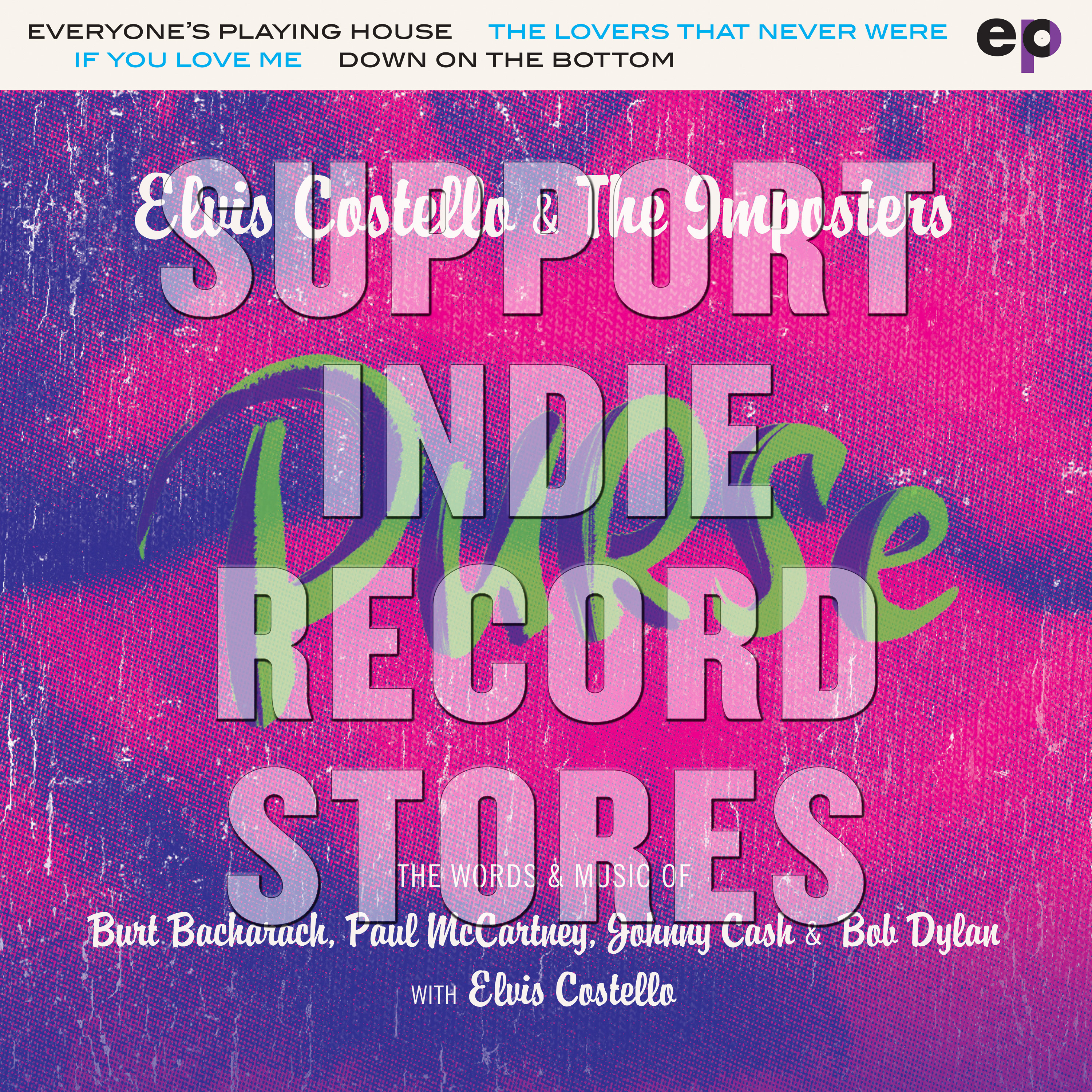 Elvis Costello & The Imposters - Purse EP  [RSD 2019]