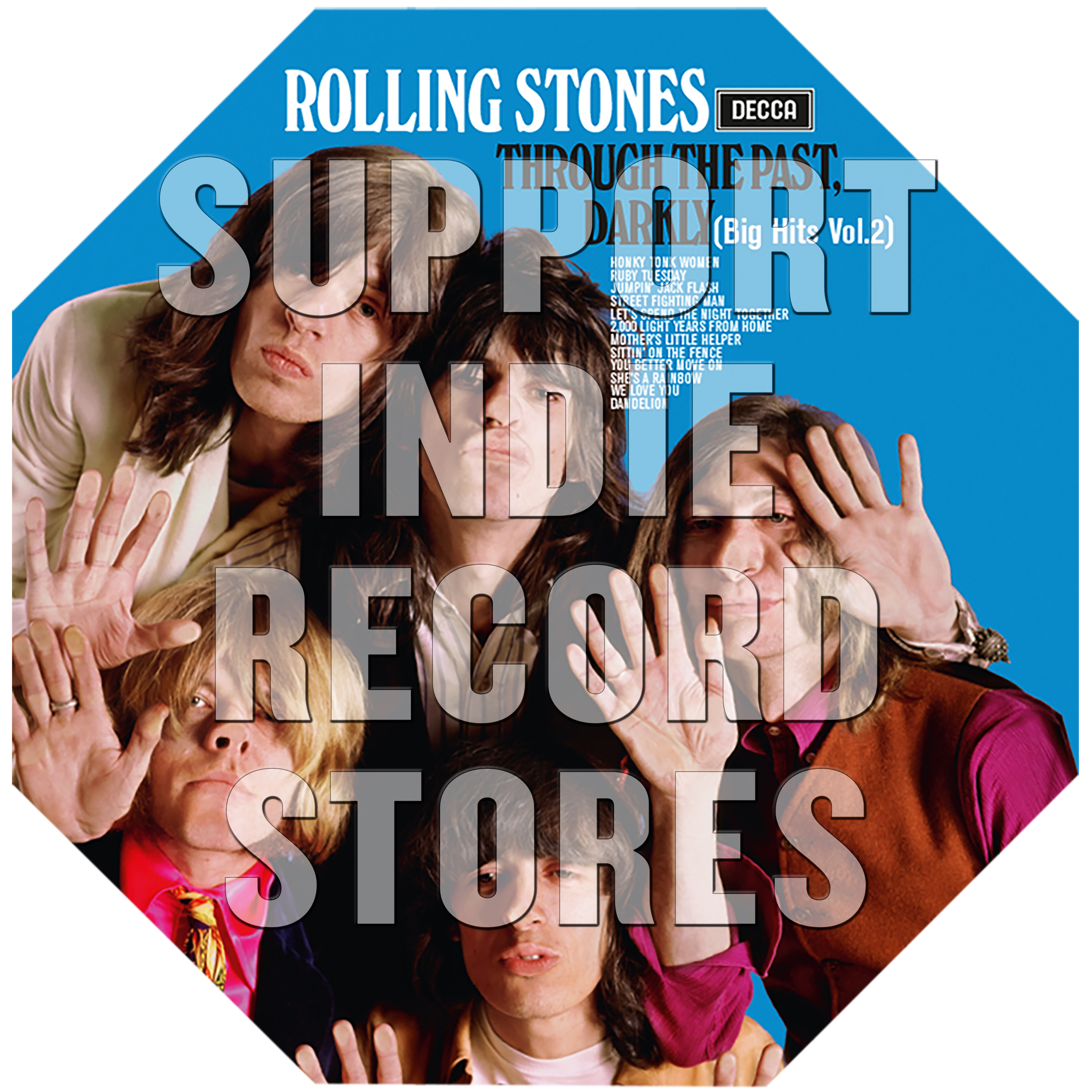The Rolling Stones - Through The Past Darkly  [RSD 2019]