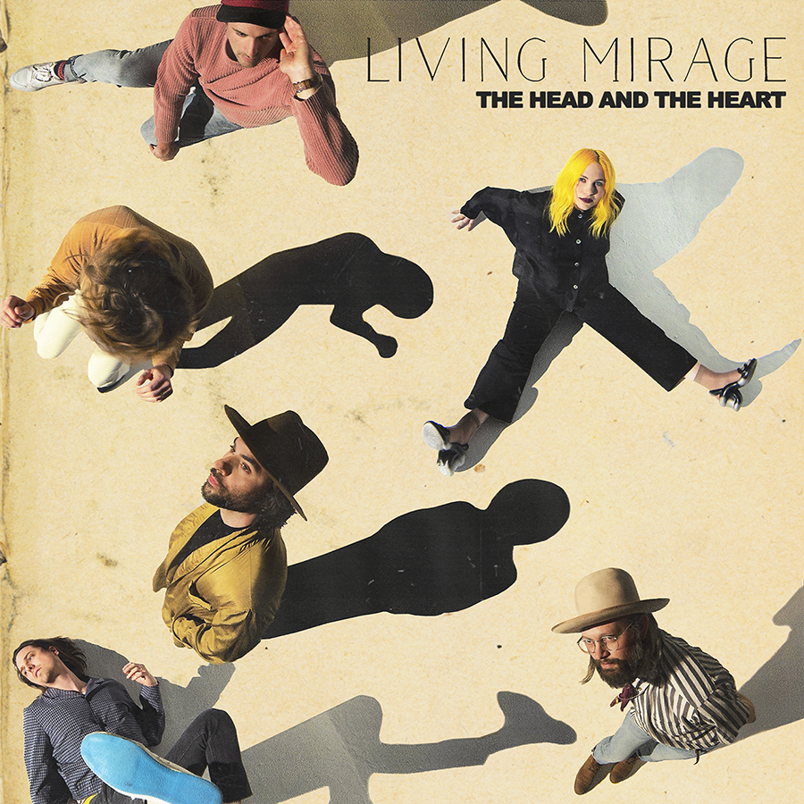 The Head And The Heart - Living Mirage [Indie Exclusive Limited EditionGreen/Black LP]