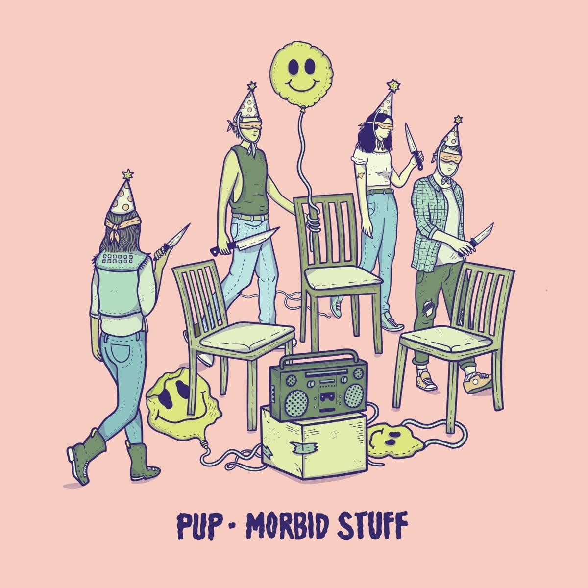 Pup - Morbid Stuff [Indie Exclusive Limited Edition Pink & Oxblood LP]