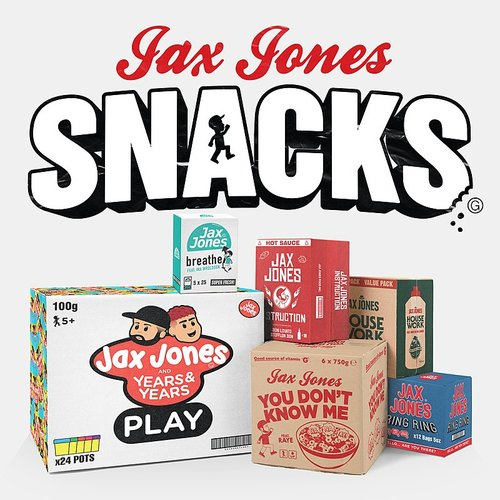 Jax Jones - Snacks EP