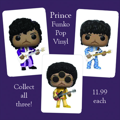 Prince Funko Pop Vinyl Figures Available Now