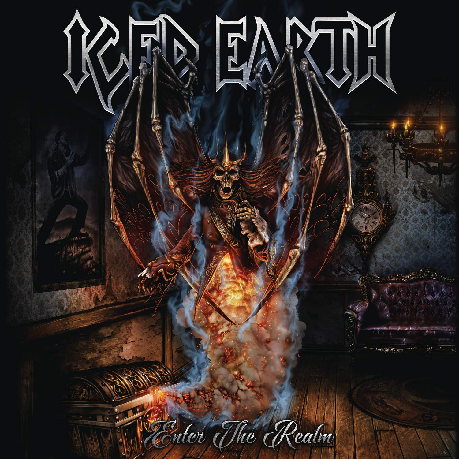 Iced Earth - Enter The Realm EP [Indie Exclusive Limited Edition Ultra Clear Vinyl]