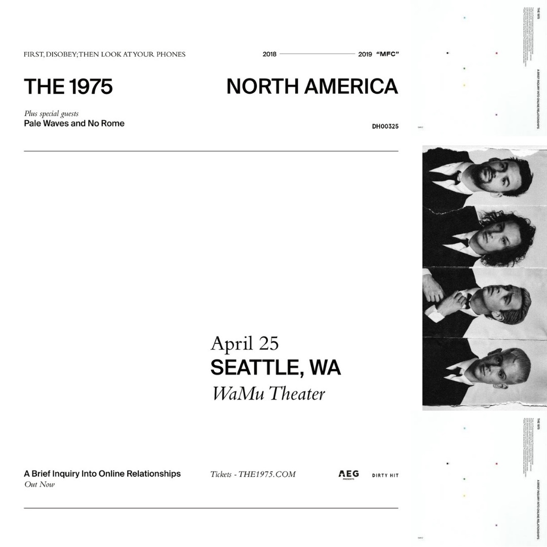 7f313f7b4fa Record Store Day comes with bounties of giveaways! Catch The 1975 at WaMu  Theater on April 25th. Tickets available here. We have a pair of tickets to  the ...
