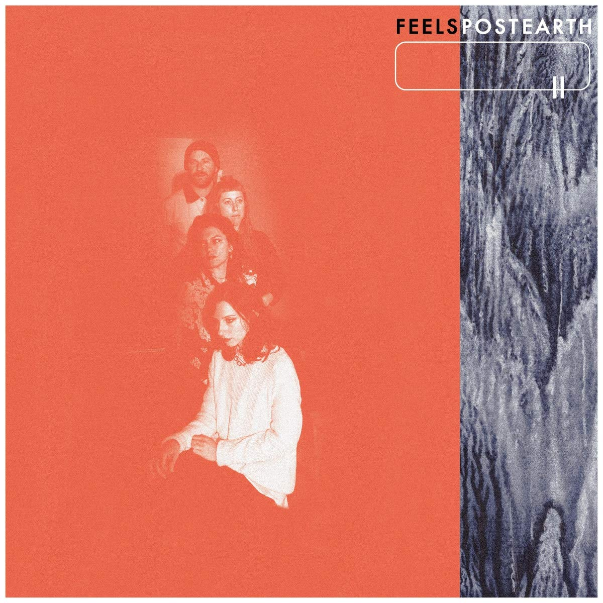 Feels - Post Earth [Limited Edition Red LP]