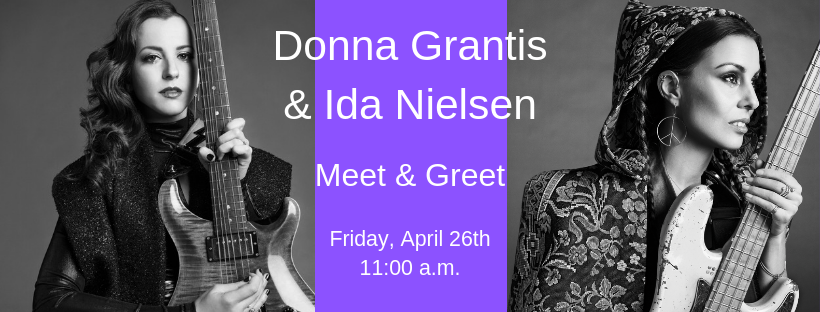 Donna Grantis and Ida Nielsen Meet and Greet
