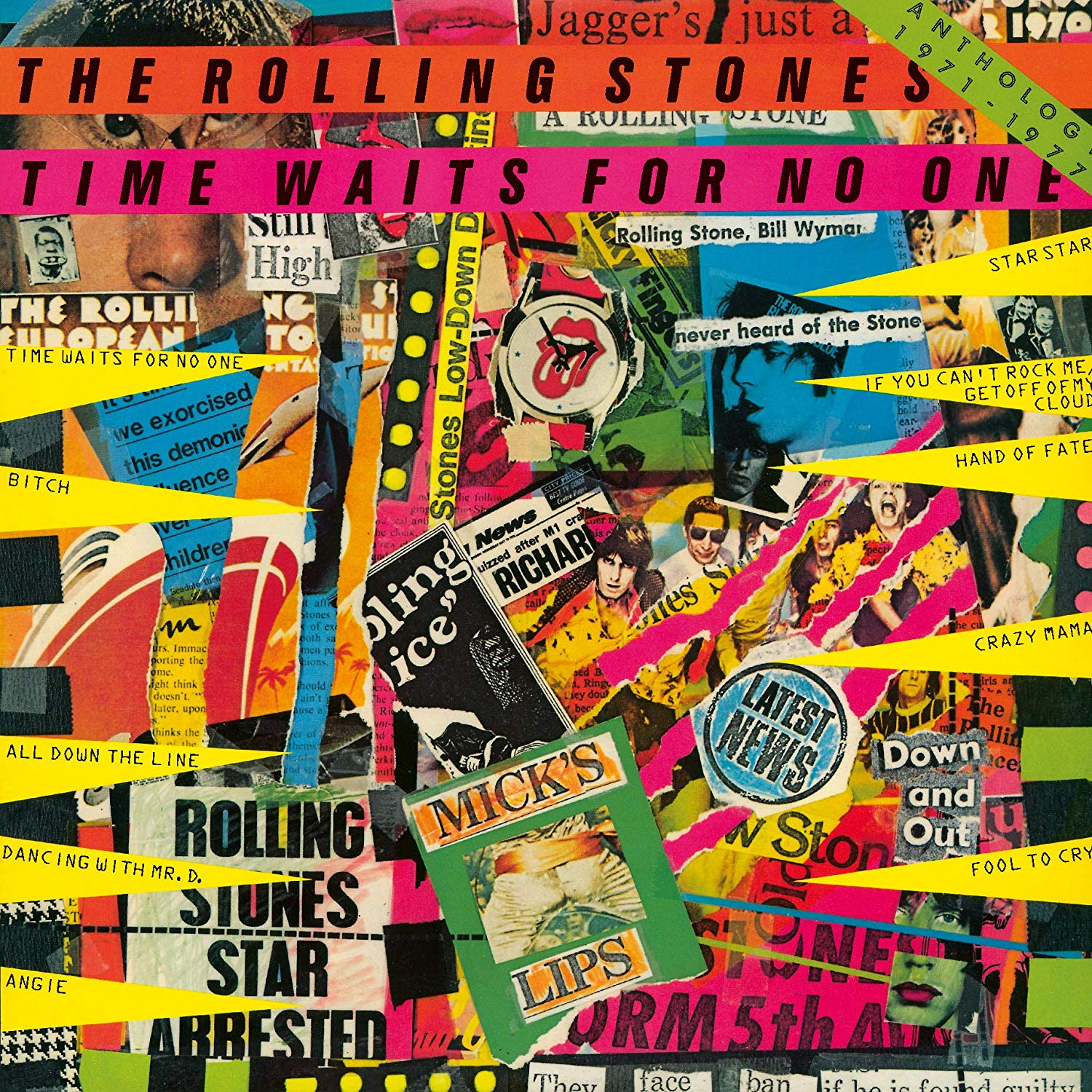The Rolling Stones - Time Waits For No One: Anthology 1971-1977 [Super High Material CD]