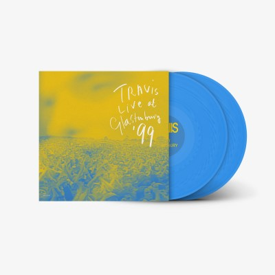 Travis - Live At Glastonbury '99 [Indie Exclusive Limited Edition Cyan Blue 2LP]