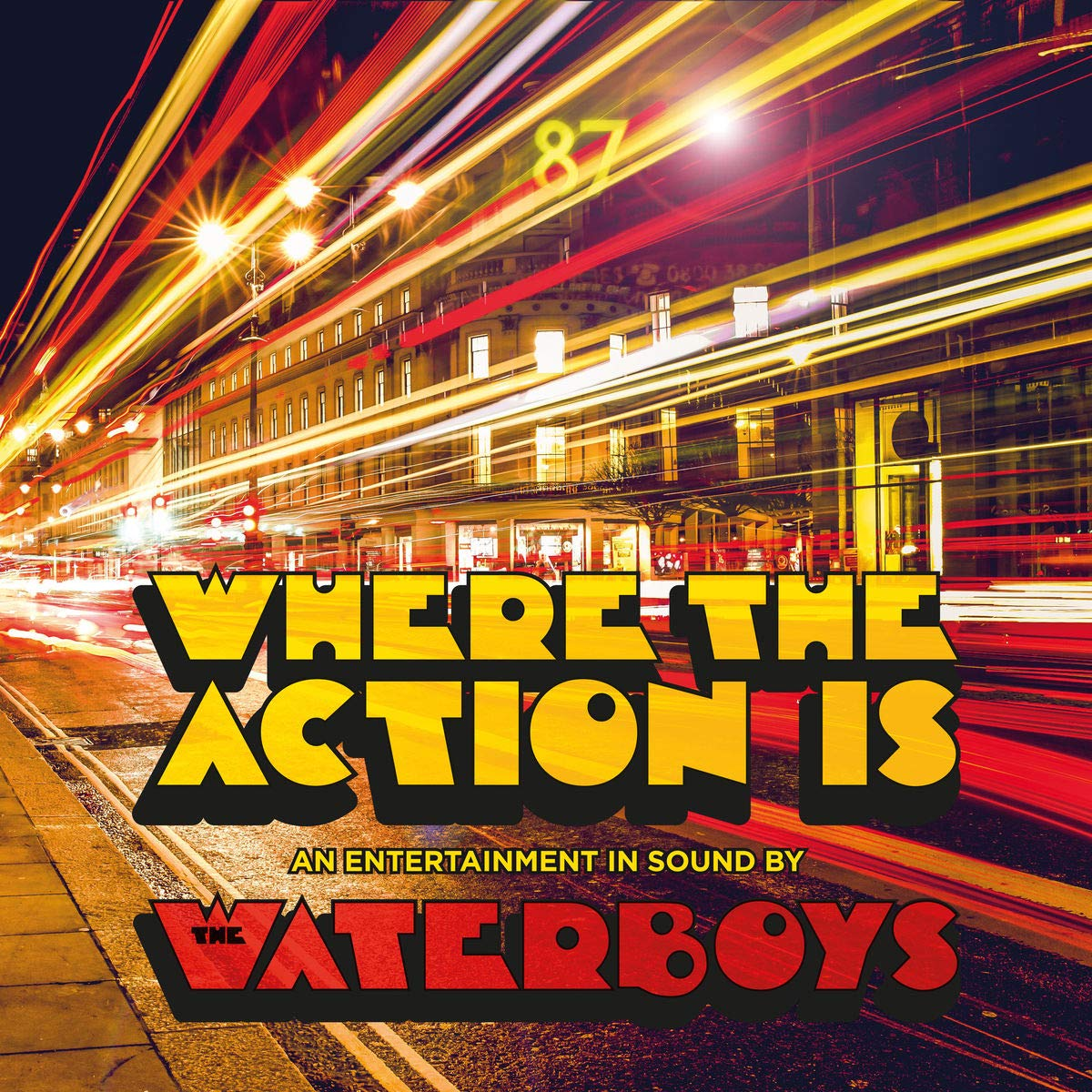 The Waterboys - Where The Action Is [LP]