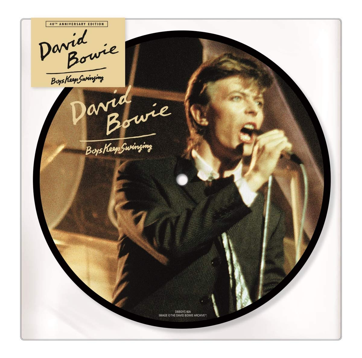 David Bowie - Boys Keep Swinging: 40th Anniversary [Limited Edition Picture Disc Vinyl Single]