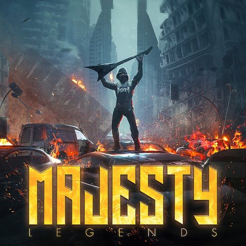 Majesty - Burn The Bridges - Single