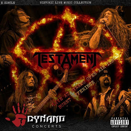 Testament - Burnt Offerings (Live At Dynamo Open Air / 1997) - Single