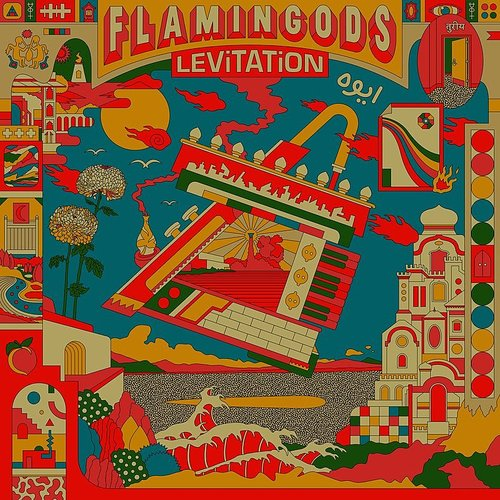Flamingods - Levitation [Splatter Colored Vinyl]