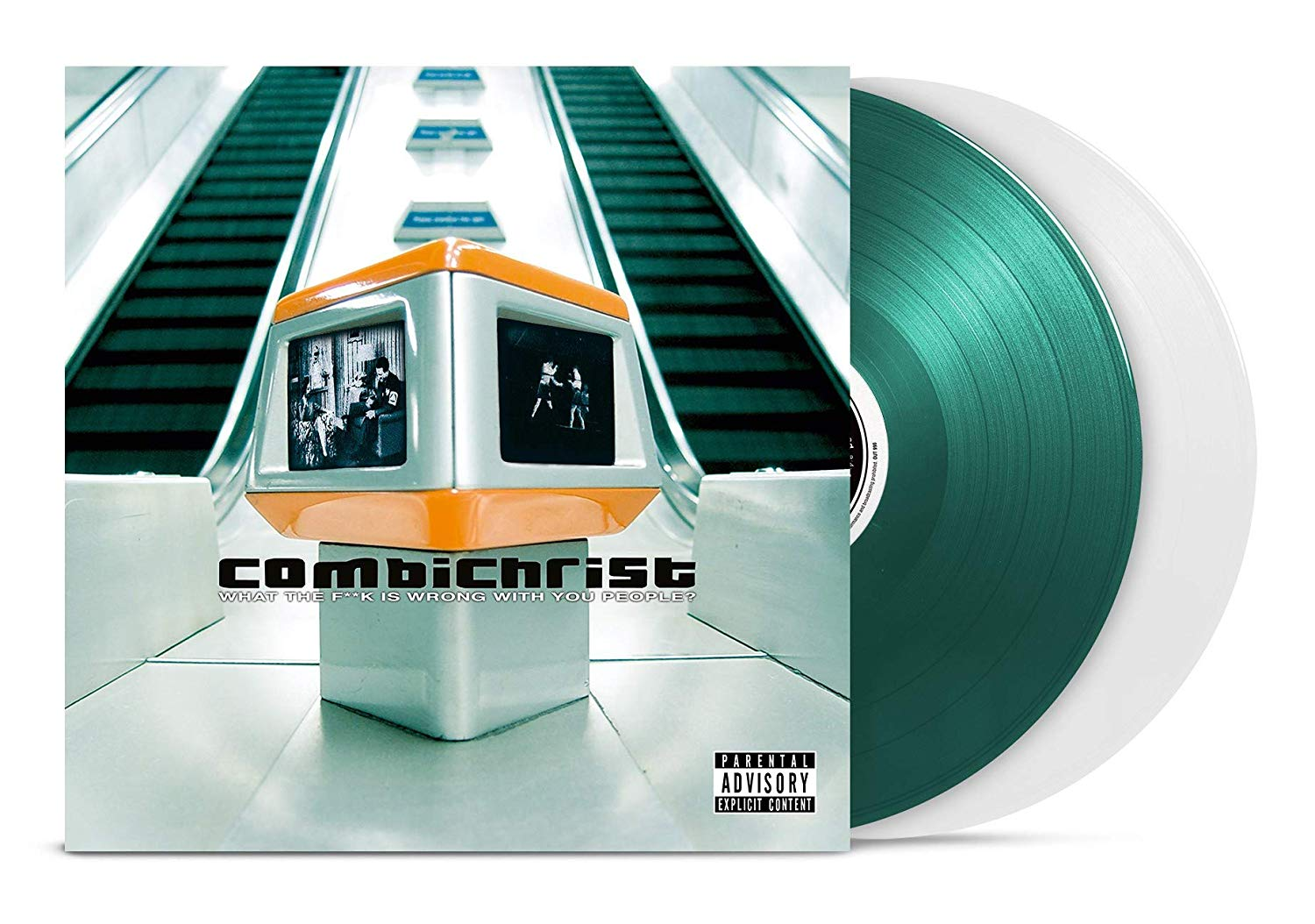 Combichrist - What The F**k Is Wrong With You People? [Green/Transparent 2LP]