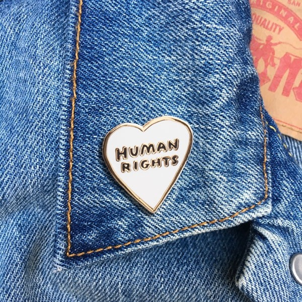 Pin - Human Rights Heart Pin